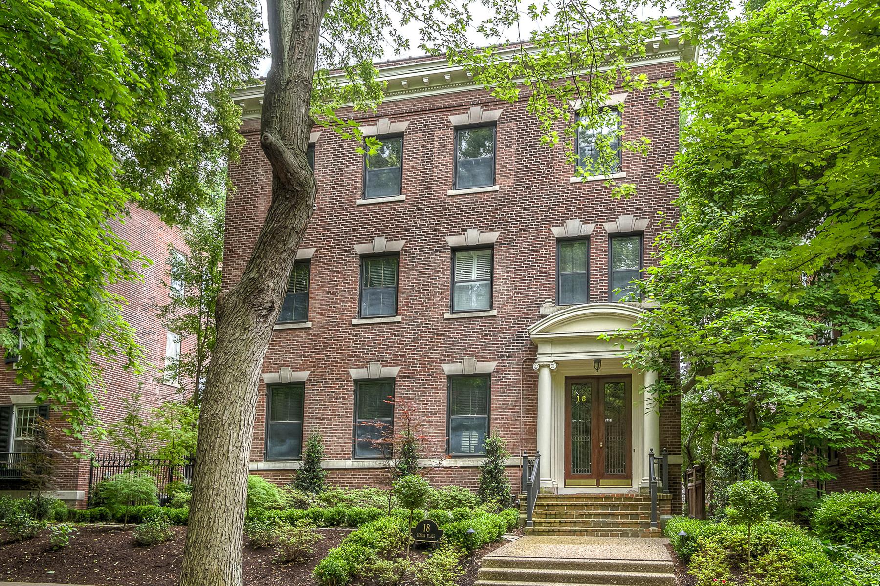 Tek Ailelik Ev için Satış at Lenox Place 18 Lenox Place St. Louis, Missouri 63108 Amerika Birleşik Devletleri