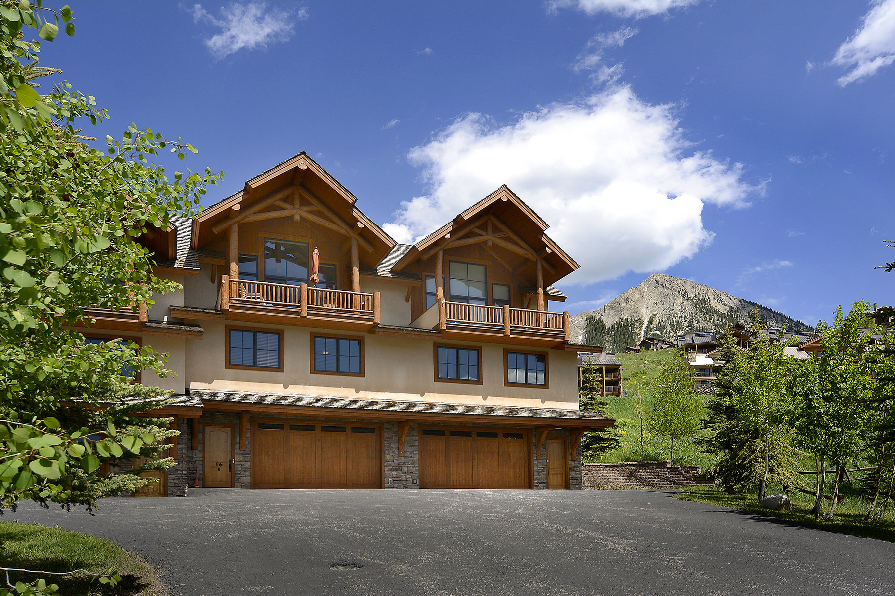 Maison unifamiliale pour l Vente à Ski In/Ski Out Condominium 17 Hunter Hill Road Hawks Nest Condos Mount Crested Butte, Colorado 81225 États-Unis