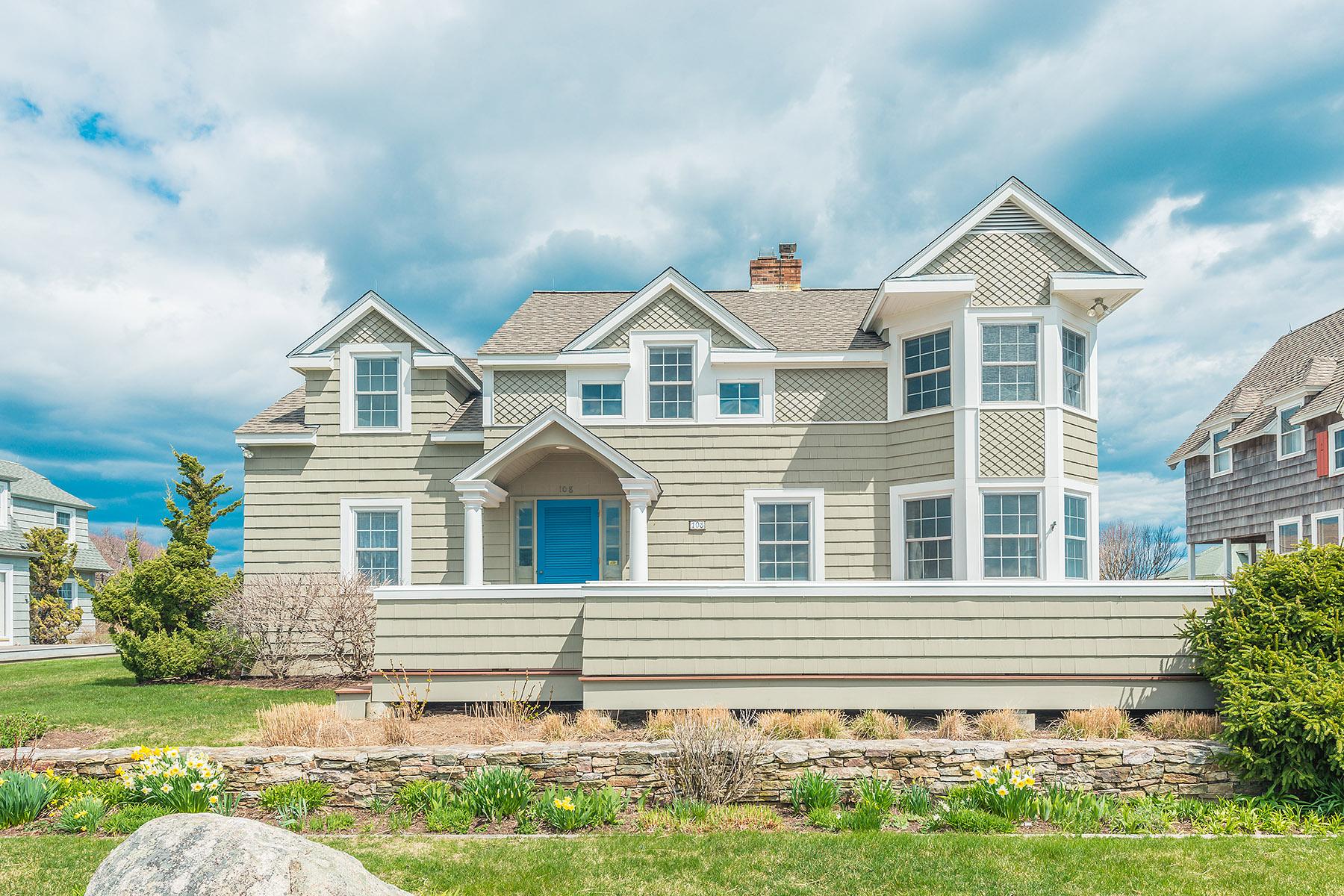 Villa per Vendita alle ore 108 Noyes Neck Road 108 Noyes Neck Road Weekapaug Westerly, Rhode Island 02891 Stati Uniti