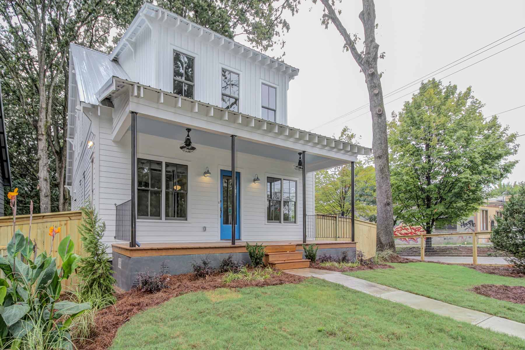 Property For Sale at Brand new design-driven modern farmhouse in East Atlanta.