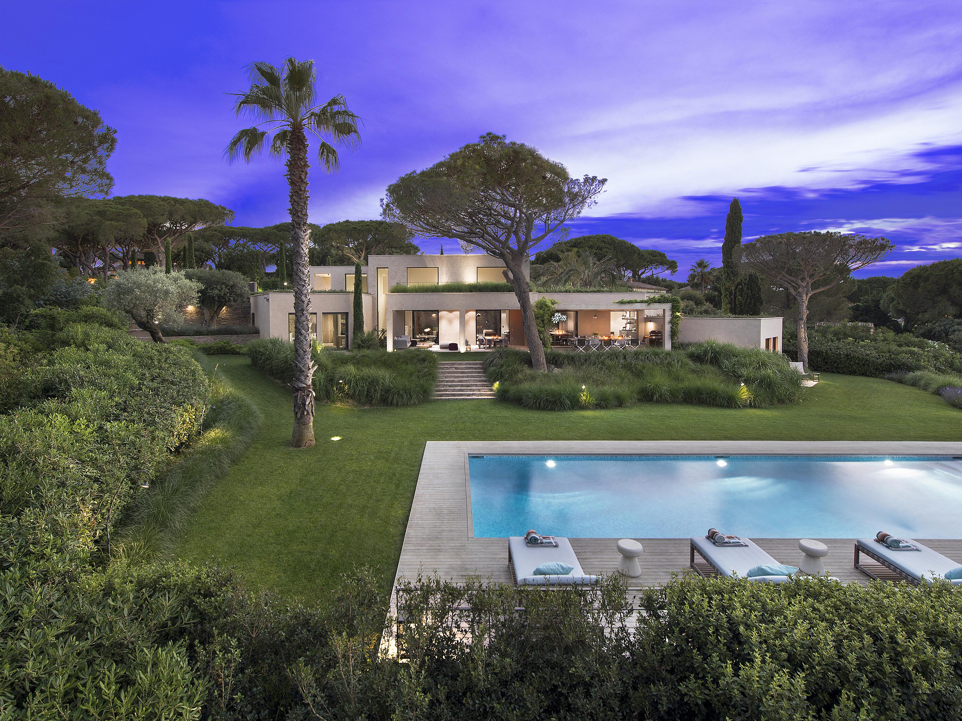 Single Family Home for Sale at Sleek and minimalist property located in a private domain saint tropez Saint Tropez, Provence-Alpes-Cote D'Azur 83990 France
