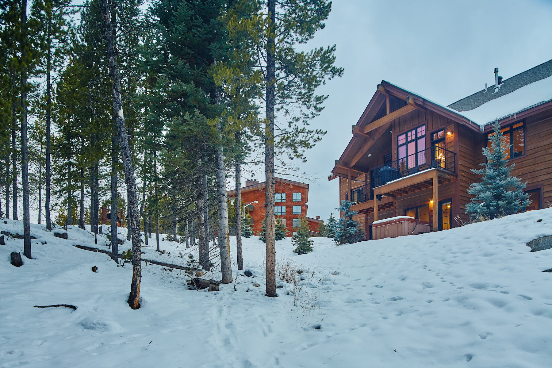 Single Family Home for Sale at Alpenglow 37C Alpenglow 37C, Heavy Runner Road Big Sky, Montana, 59716 United States