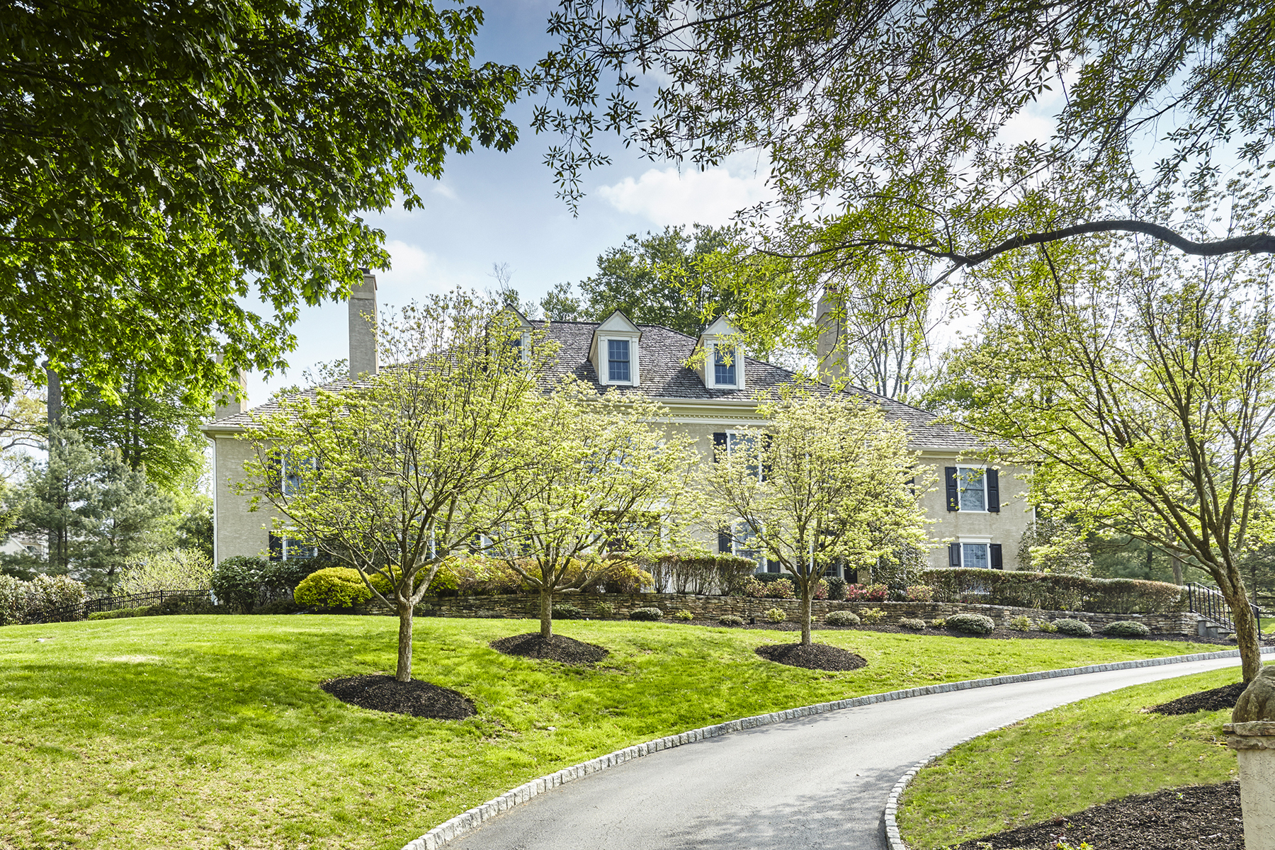 Single Family Home for Sale at Harrison Estate 5 Harrison Drive Newtown Square, Pennsylvania 19073 United States