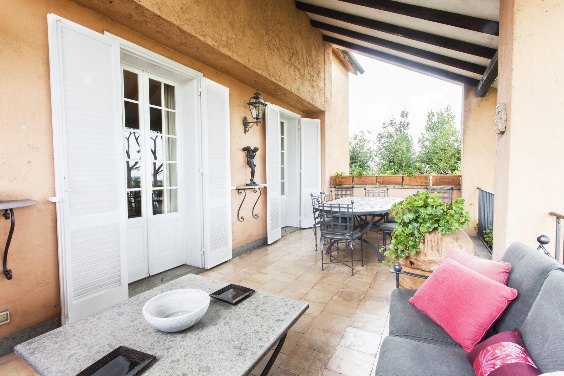 Single Family Home for Sale at Elegant Villa with spectacular views Via della Camilluccia Rome, Rome 00135 Italy