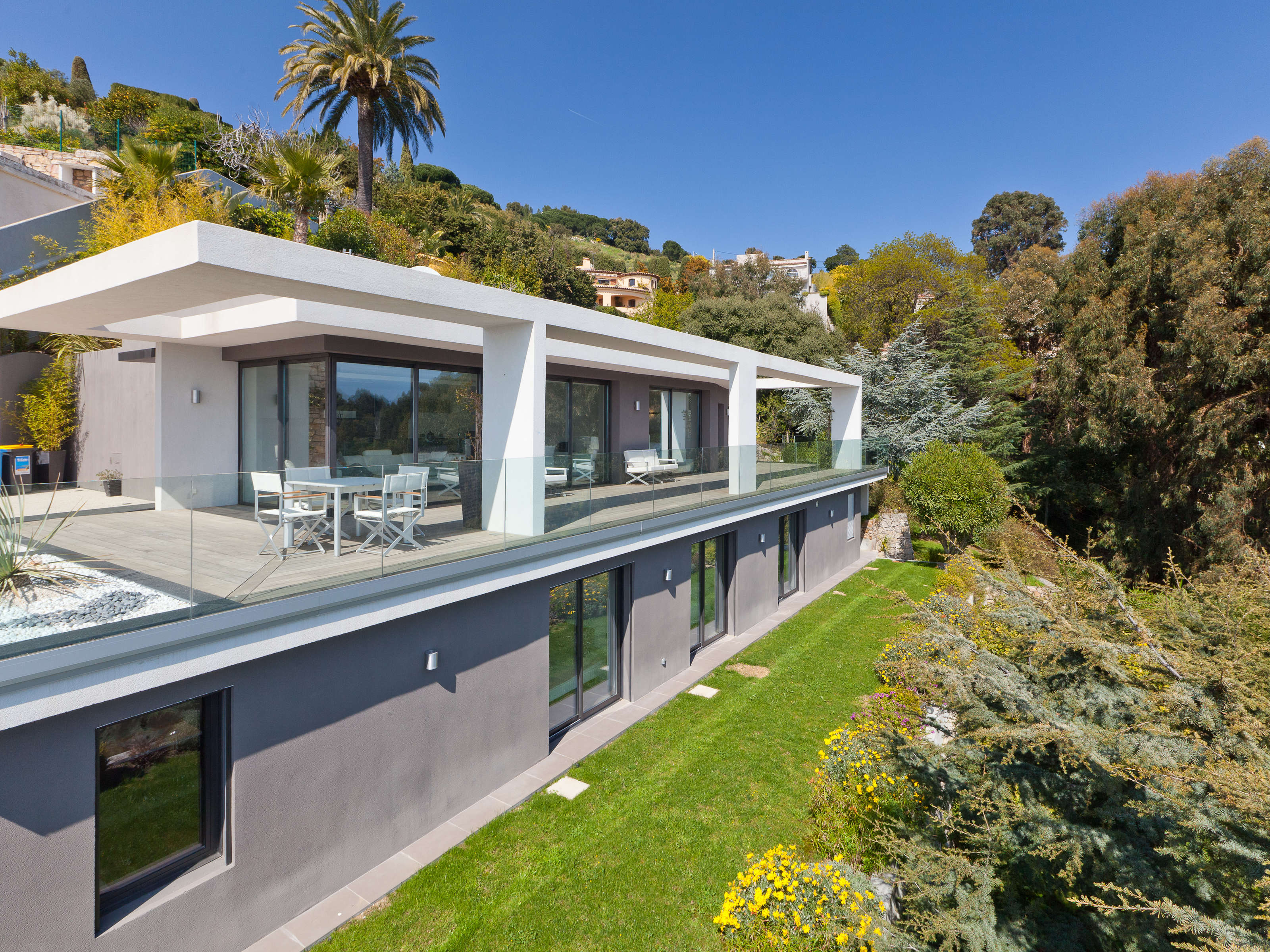 Property Of Contemporary villa with panoramic sea views