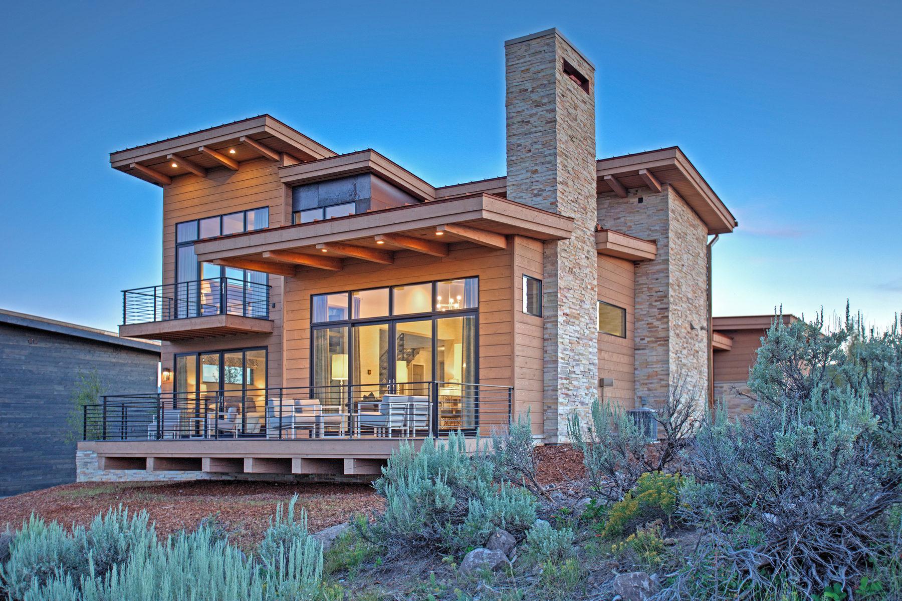 Maison unifamiliale pour l Vente à New Nicklaus Golf Cabin In Promontory 6614 Golden Bear Loop West Park City, Utah, 84098 États-Unis