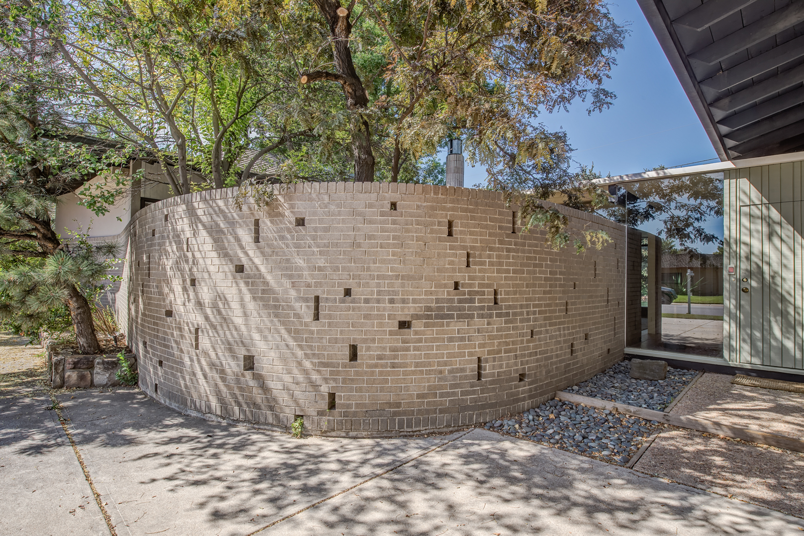Property For Sale at Built in 1963 this Custom Mid-Century Ranch Commands Attention