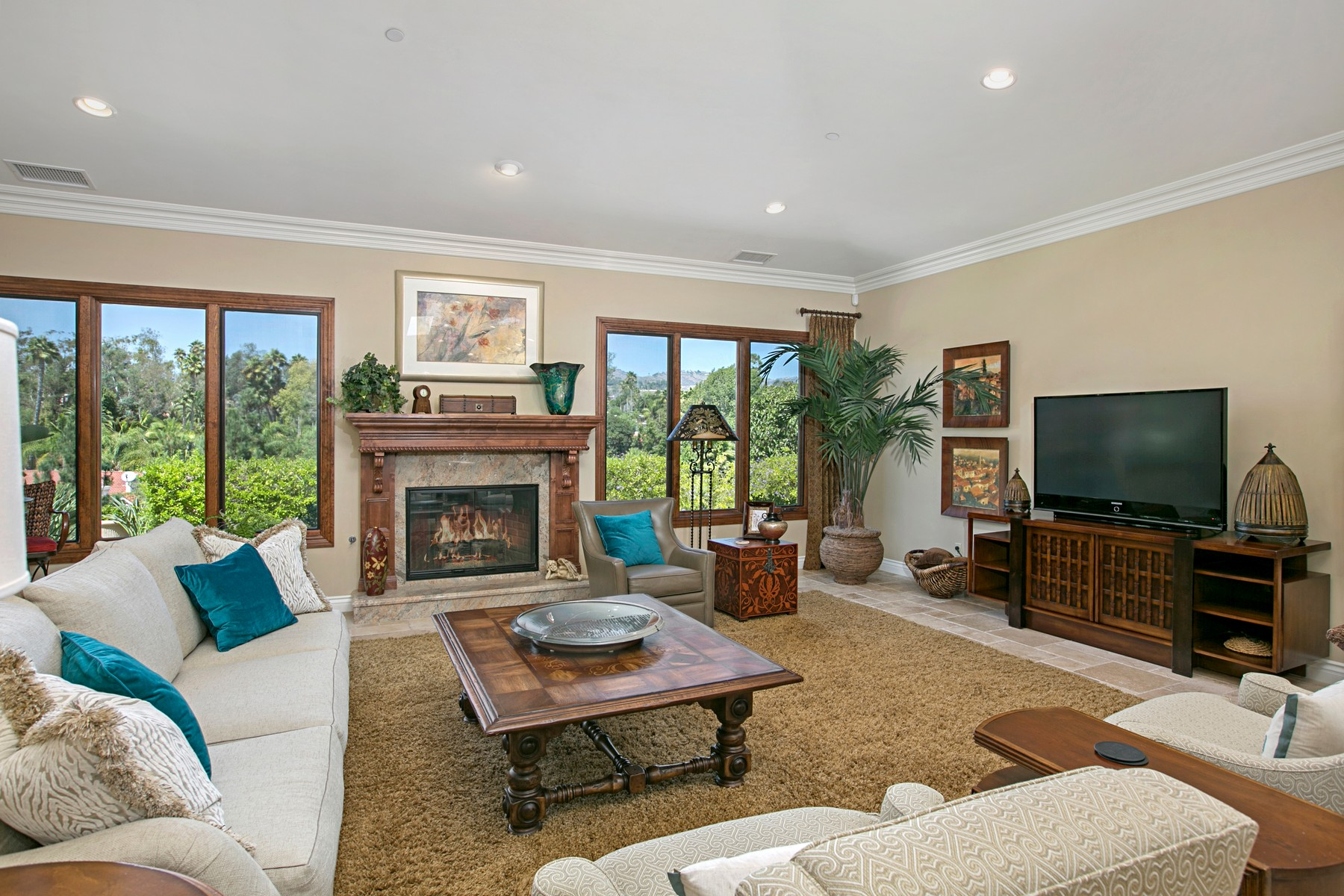 Additional photo for property listing at 17206 El Caporal  Rancho Santa Fe, Калифорния 92067 Соединенные Штаты