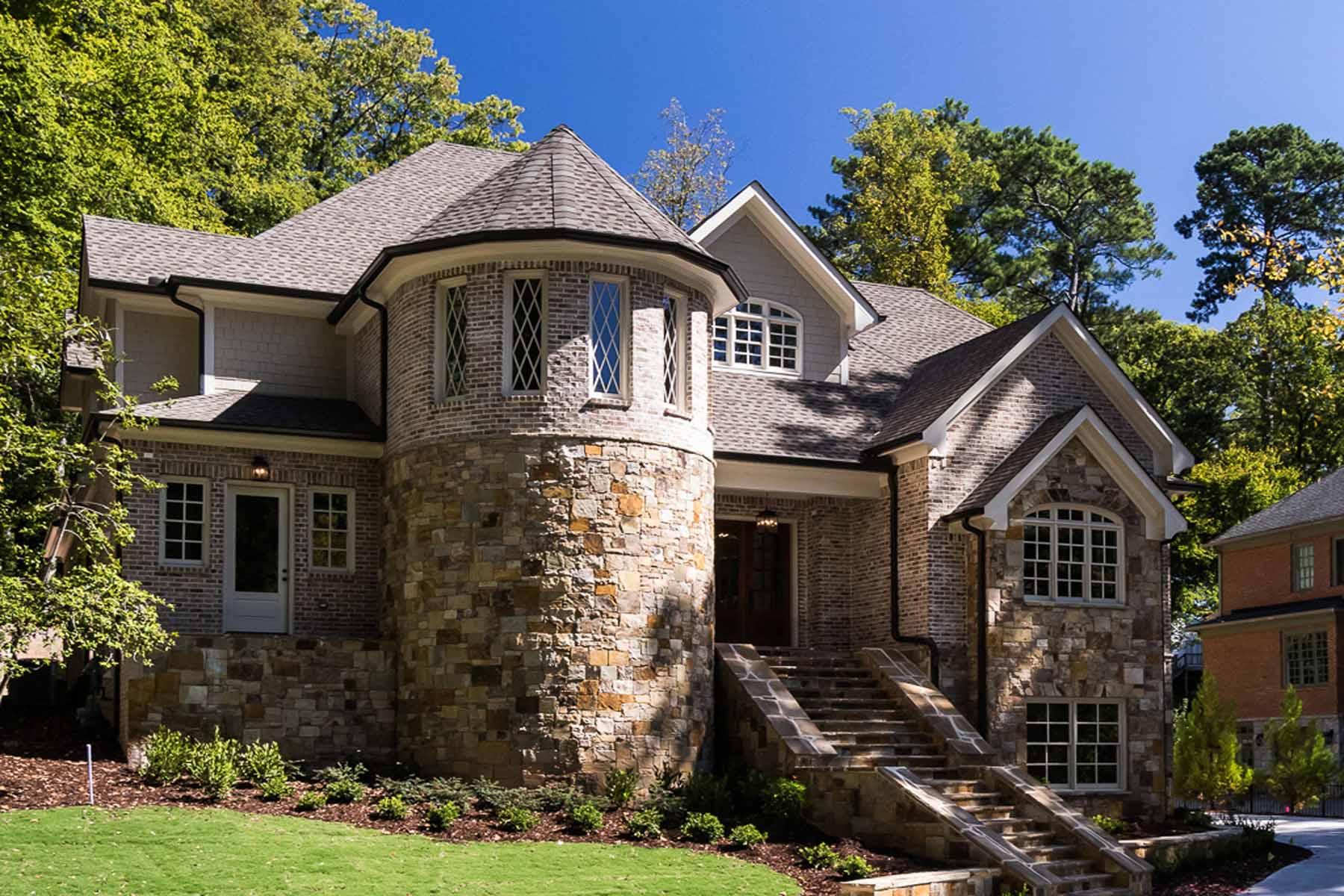 Maison unifamiliale pour l Vente à Custom New Residence on 12 Acre Lot in Sarah Smith Elementary 3037 Towerview Drive NE Atlanta, Georgia, 30324 États-Unis