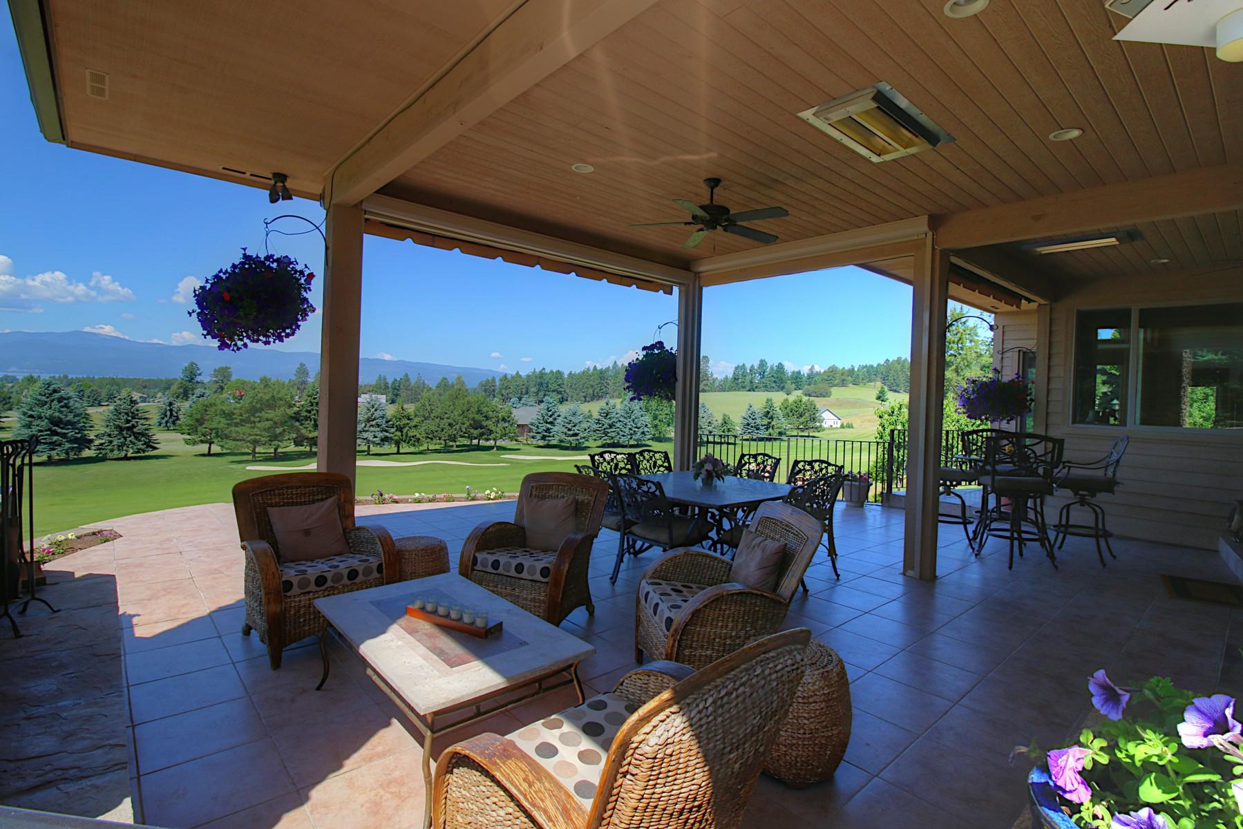 단독 가정 주택 용 매매 에 Eagle Bend Golf Course 243 Bridger Drive Bigfork, 몬타나, 59911 미국