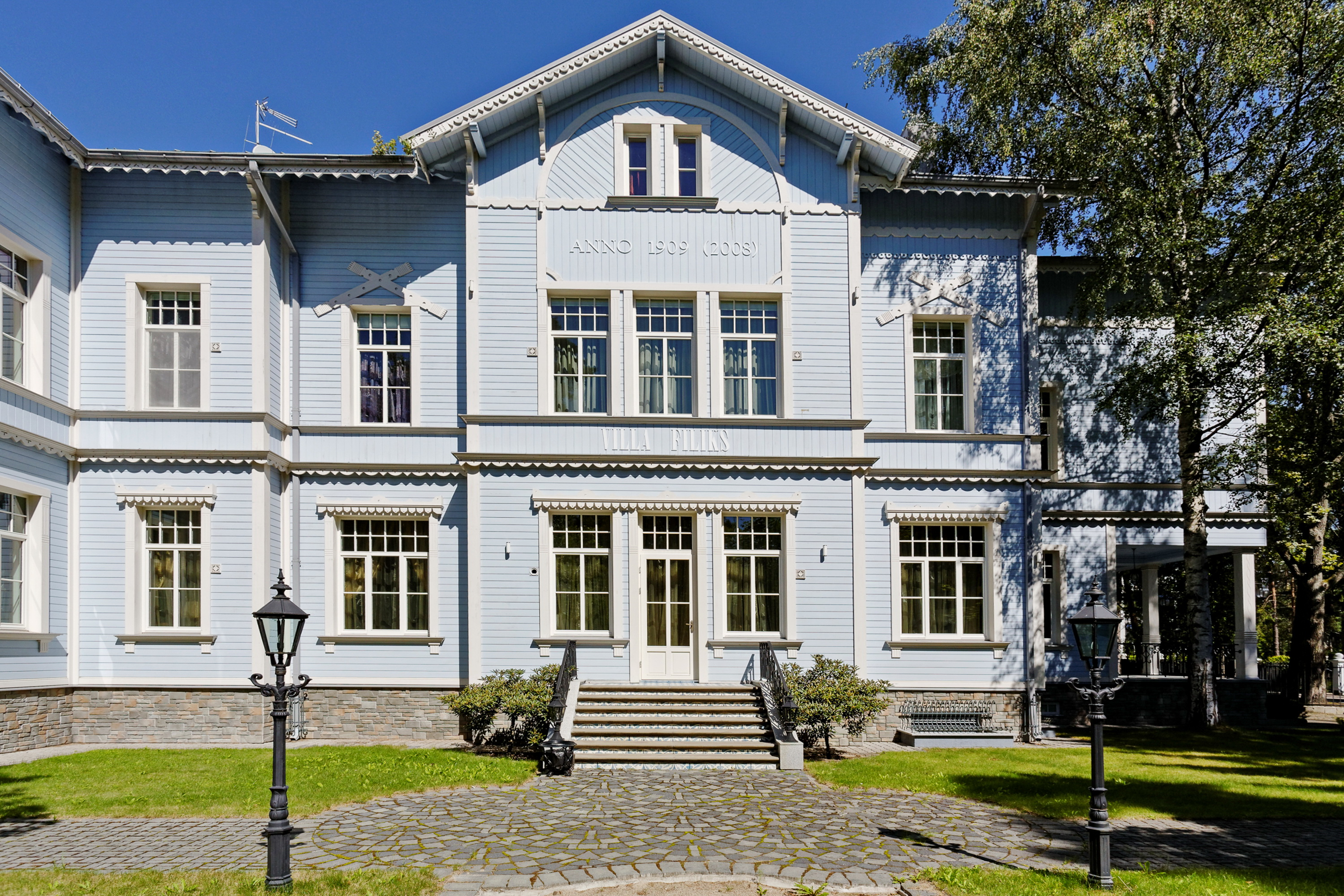 sales property at Unique Villa Filix in the resort city Jurmala
