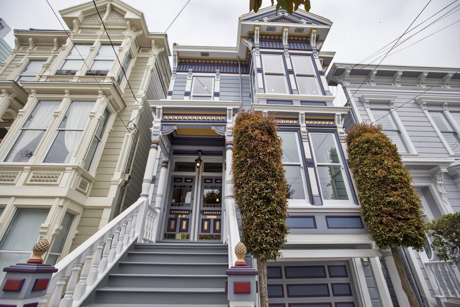 Casa para uma família para Venda às Exceptional One-Of-A-Kind Unit 2620 Sutter Street San Francisco, Califórnia 94115 Estados Unidos