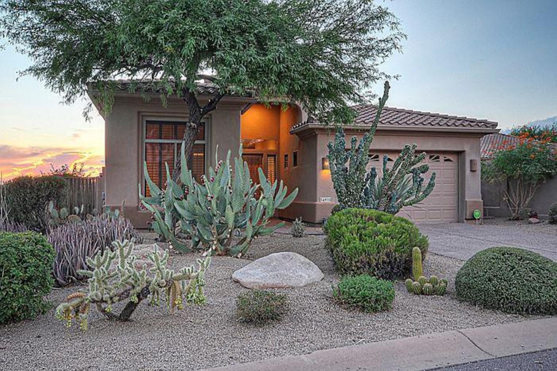 一戸建て のために 売買 アット Lovely home with the best desert unobstructed views in legend trail. 34938 N 92 PL Scottsdale, アリゾナ 85262 アメリカ合衆国