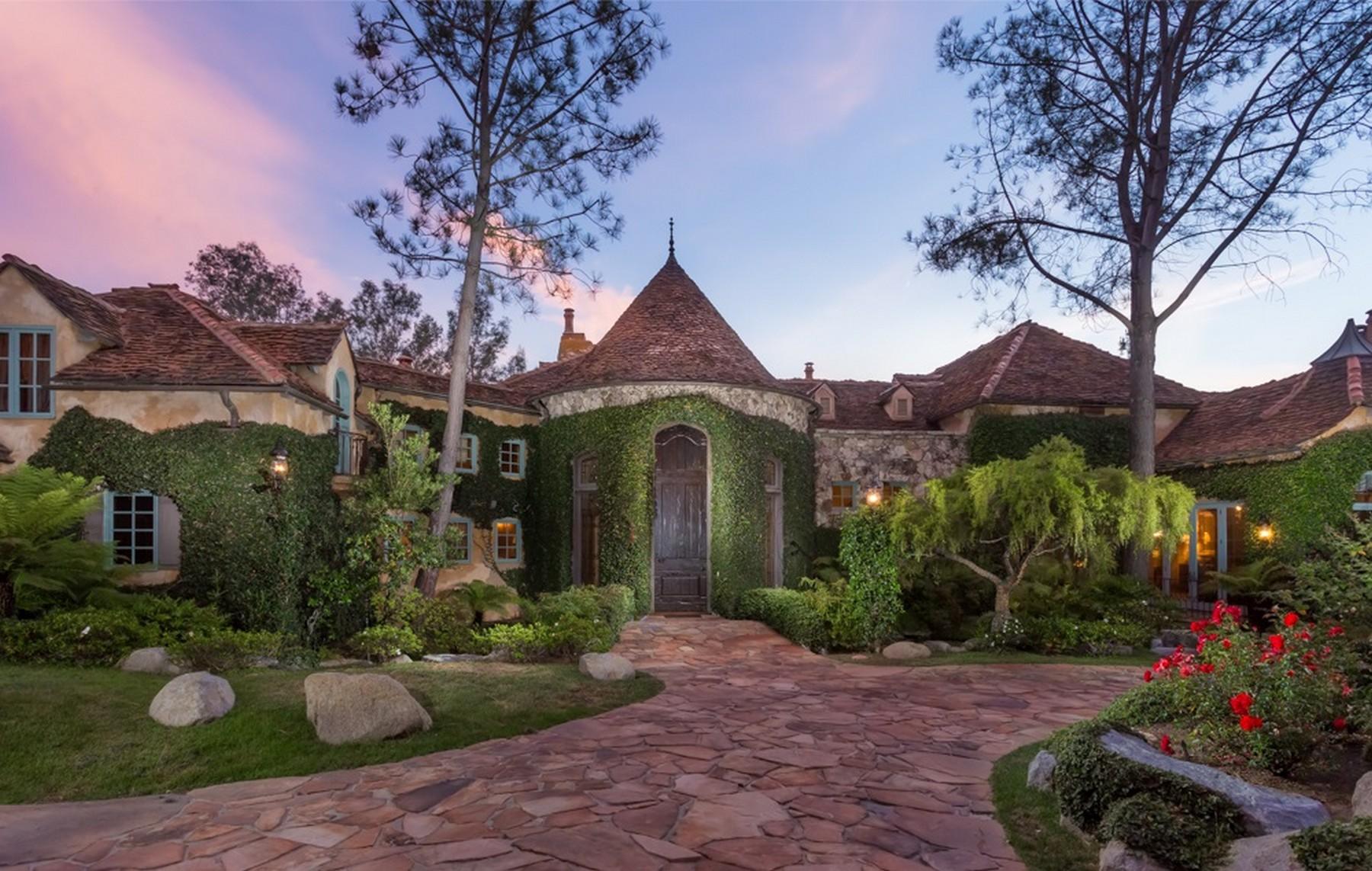 Частный односемейный дом для того Продажа на Fairbanks 16902 Via Cuesta Verde Rancho Santa Fe, Калифорния 92067 Соединенные Штаты