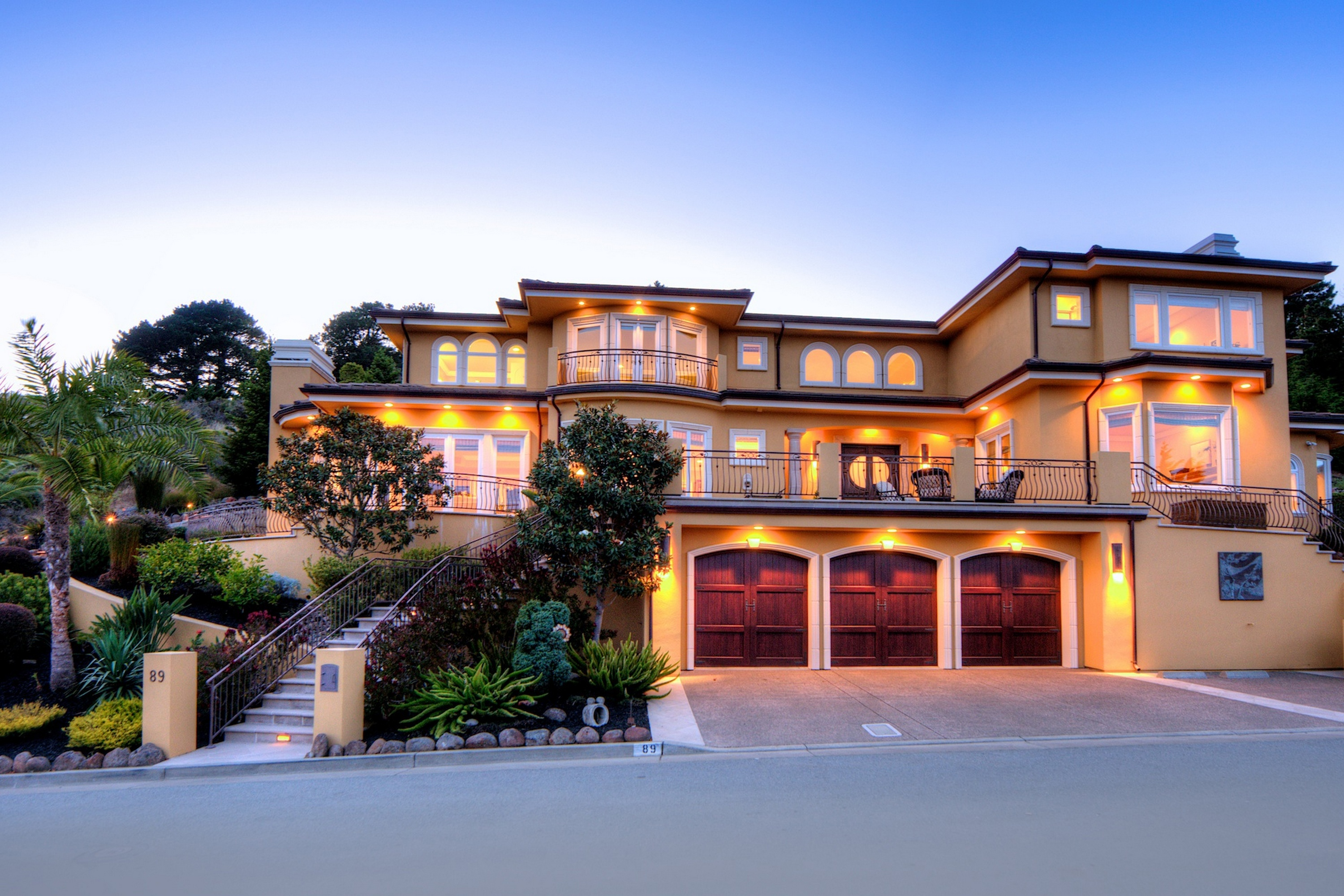 Single Family Home for Sale at Craftsmanship & Luxurious Design 89 Vista Del Sol Mill Valley, California 94941 United States