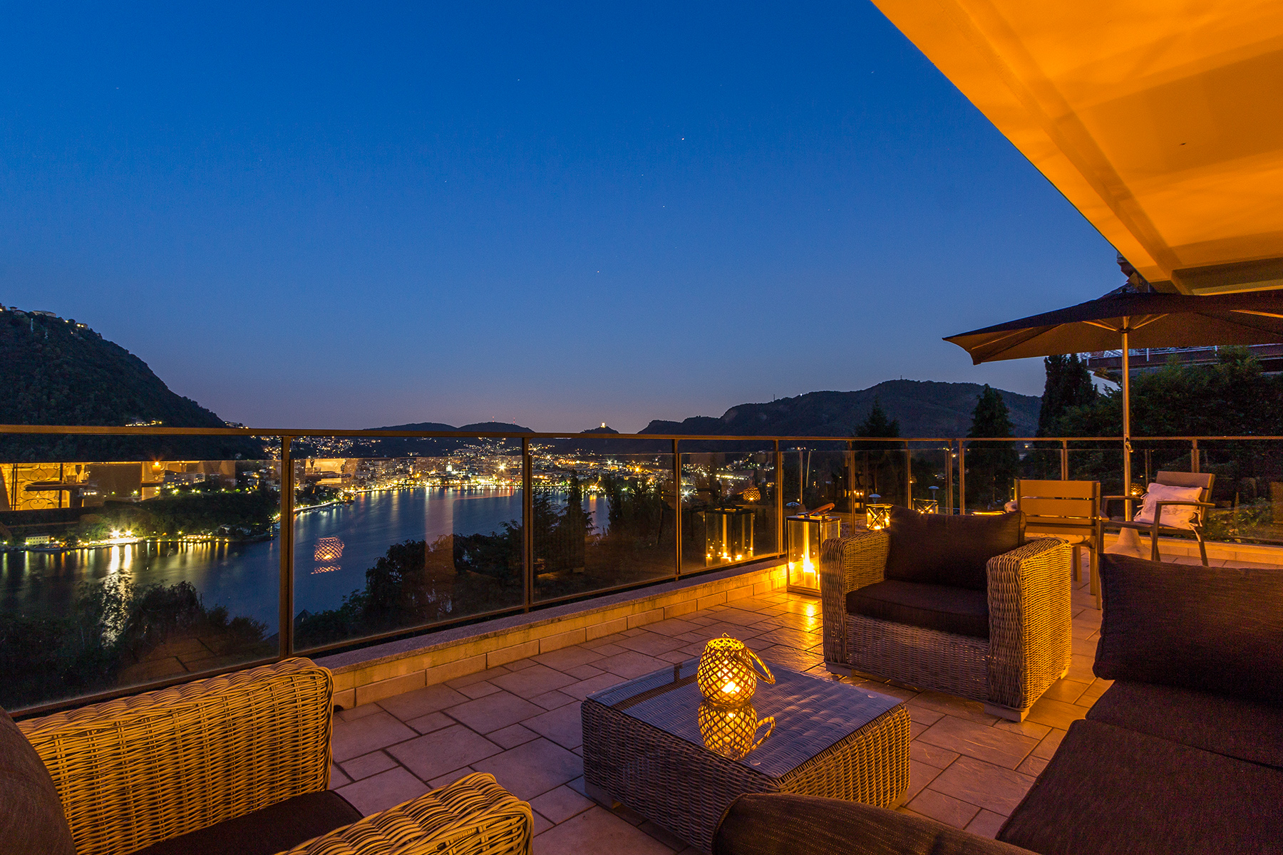 Additional photo for property listing at Authentic luxury with incomparable panoramic view via Panoramica San Pietro Como, Como 22100 Italy