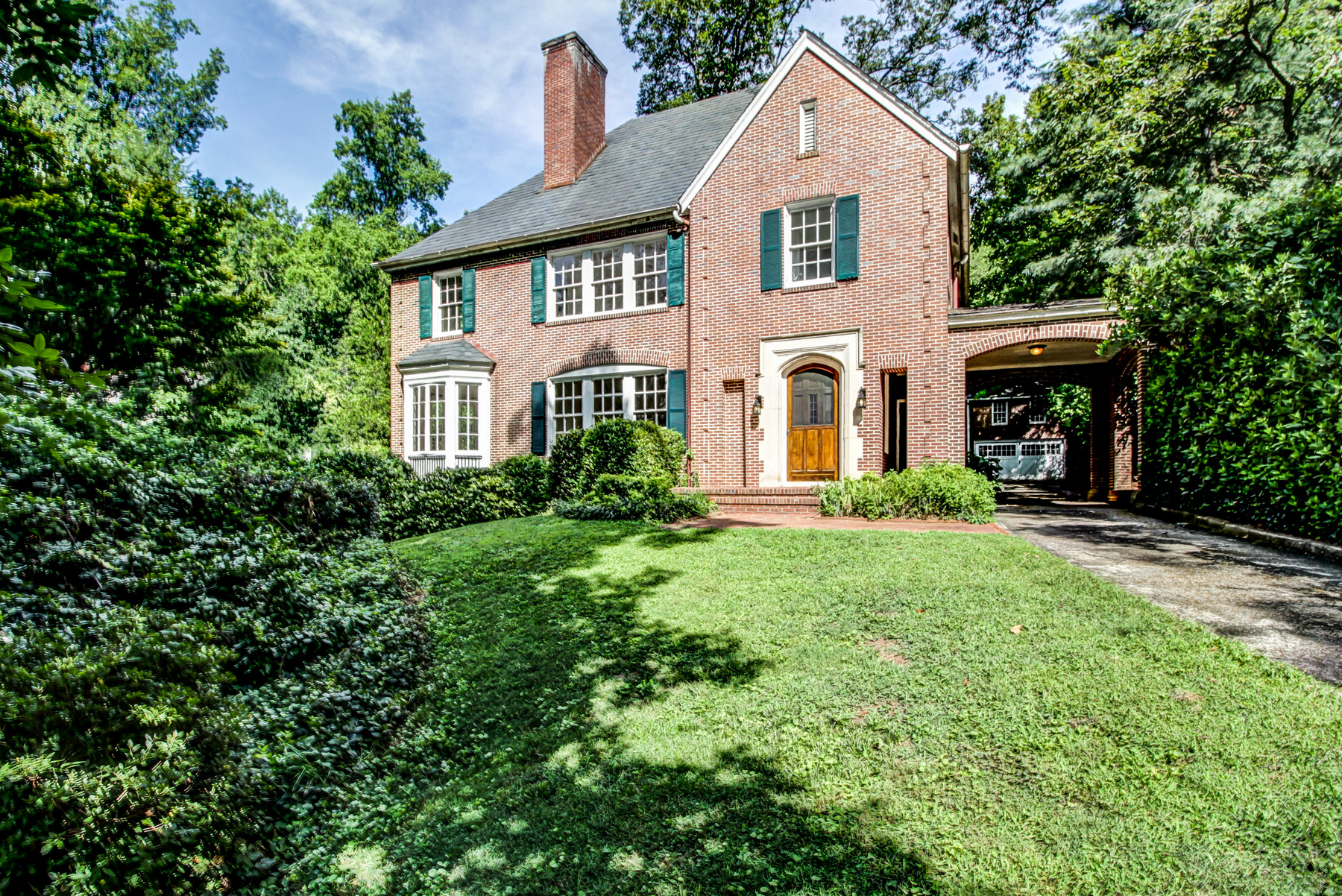 Single Family Home for Sale at Once In A Lifetime Opportunity By Preeminent Architects Ivey And Crook 808 Lullwater Road NE Druid Hills, Atlanta, Georgia, 30307 United States