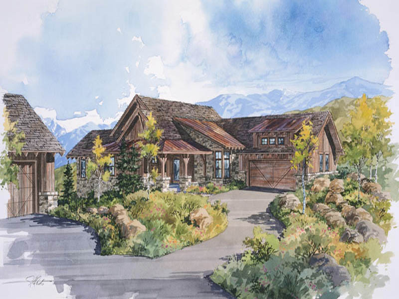 Casa Unifamiliar por un Venta en Park City Cabin in Promontory,a Private Mountain & Golf Re 3831 Cynthia Cir Lot 25 Park City, Utah 84098 Estados Unidos