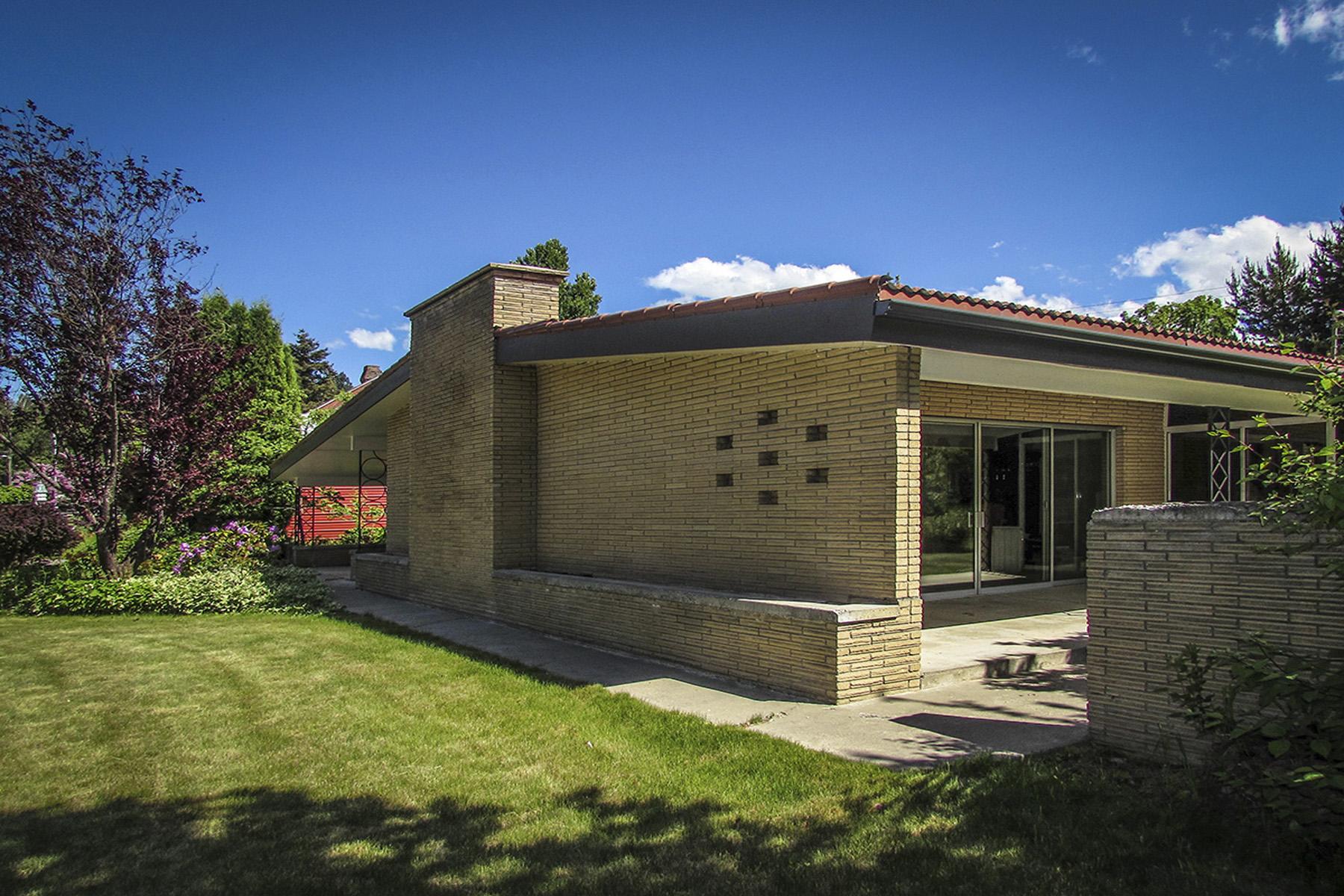 Maison unifamiliale pour l Vente à Timeless Classic 1950's Mid Century Modern 6542 Madison Street Bonners Ferry, Idaho 83805 États-Unis