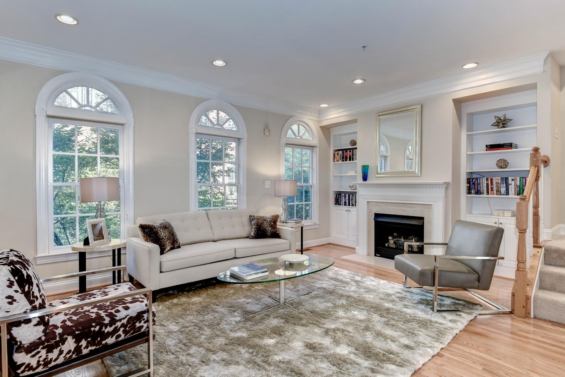 Casa Unifamiliar Adosada por un Venta en Chevy Chase 5336 43rd Street NW Washington, Distrito De Columbia 20015 Estados Unidos