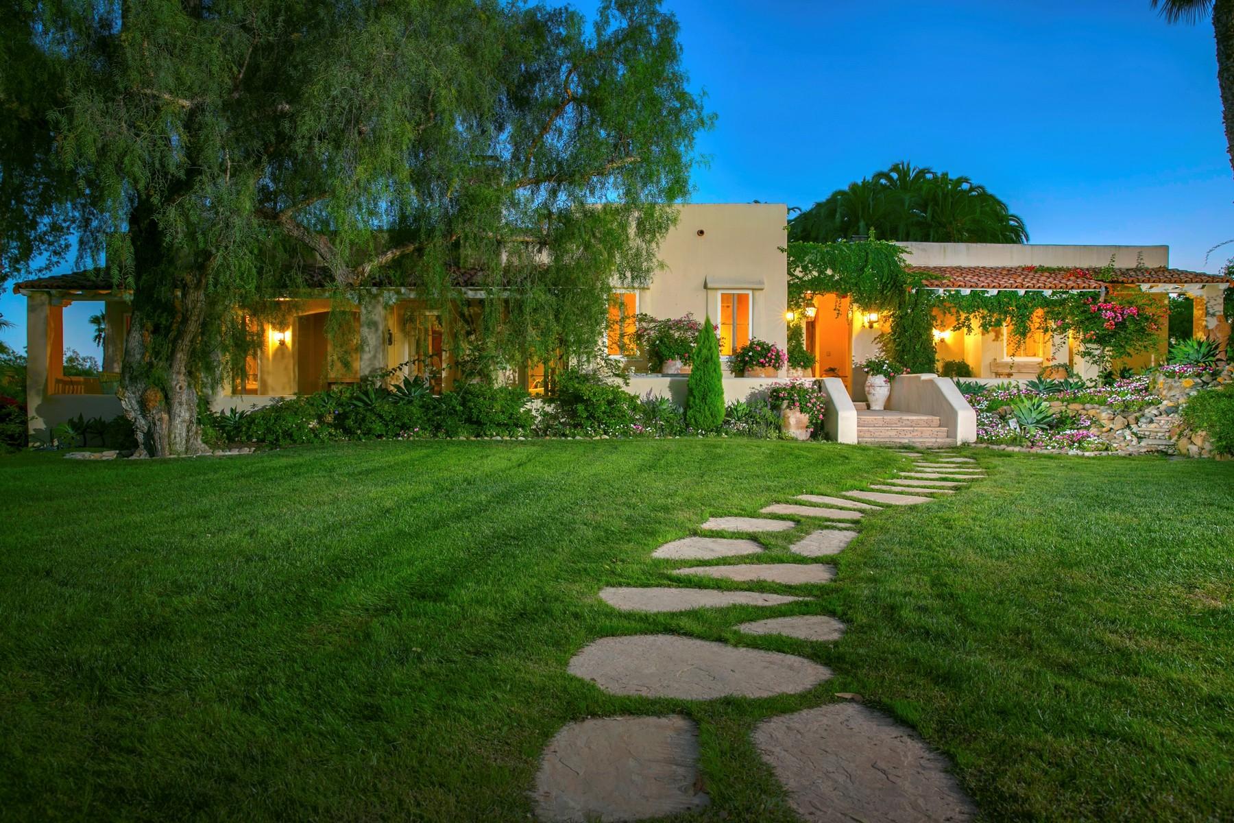 Частный односемейный дом для того Продажа на 6855 La Valle Plateada Rancho Santa Fe, Калифорния, 92067 Соединенные Штаты