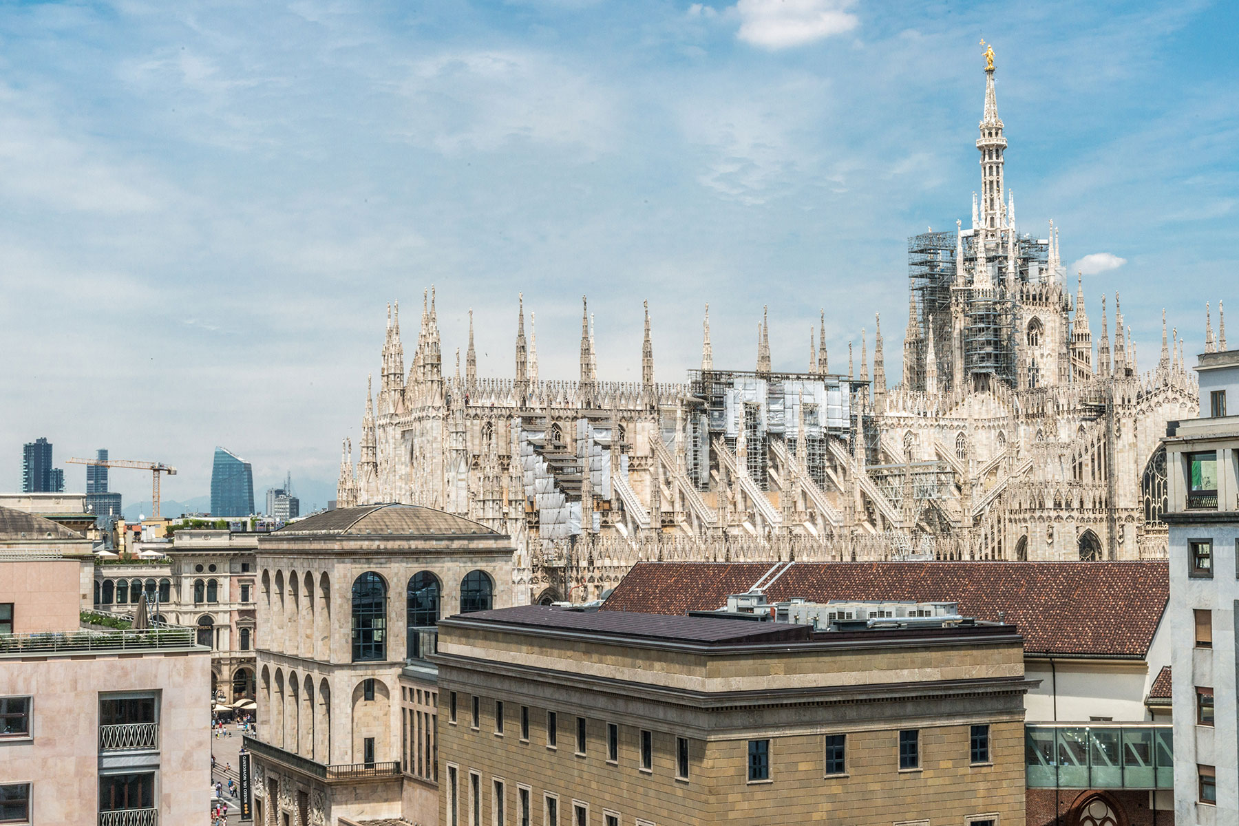 Apartment for Rent at Unique apartament with uncomparable view of the Duomo via Maurizio Gonzaga Milano, 20123 Italy