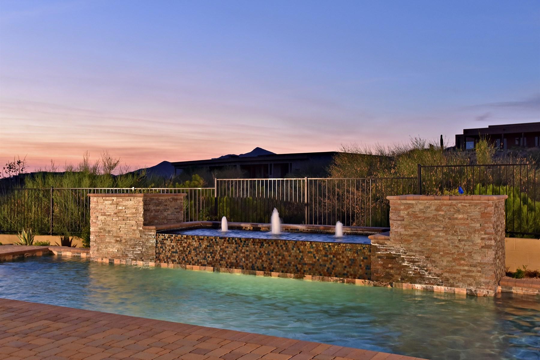 단독 가정 주택 용 매매 에 Incredible mountain and sunset views on a premium corner lot. 10808 E Scopa TRL Scottsdale, 아리조나 85262 미국
