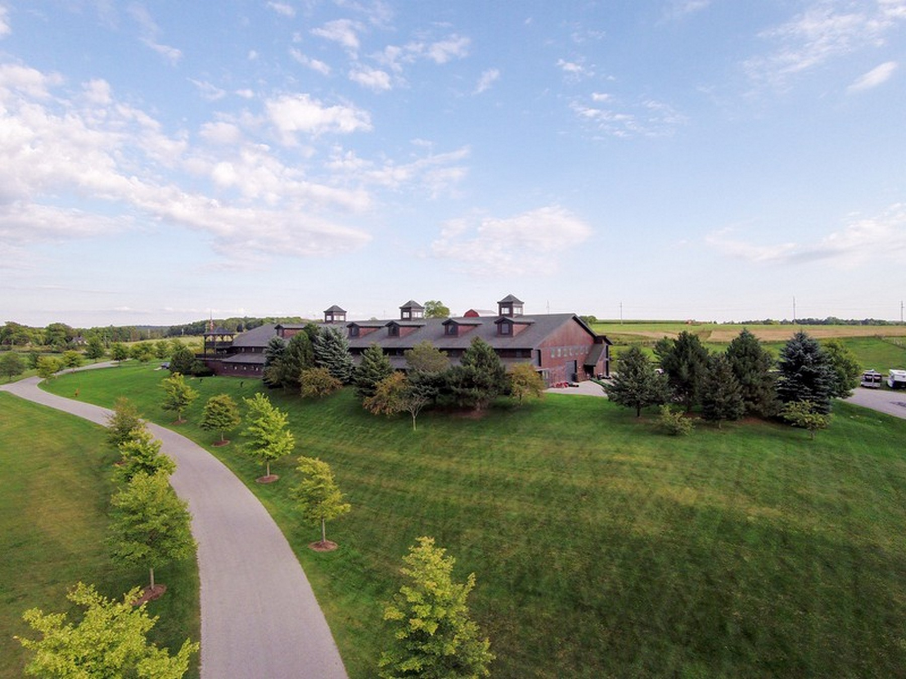 Farm / Ranch / Plantation for Sale at Equestrian Masterpiece 5251 Charlevoix Road Bay Harbor, Michigan 49770 United States