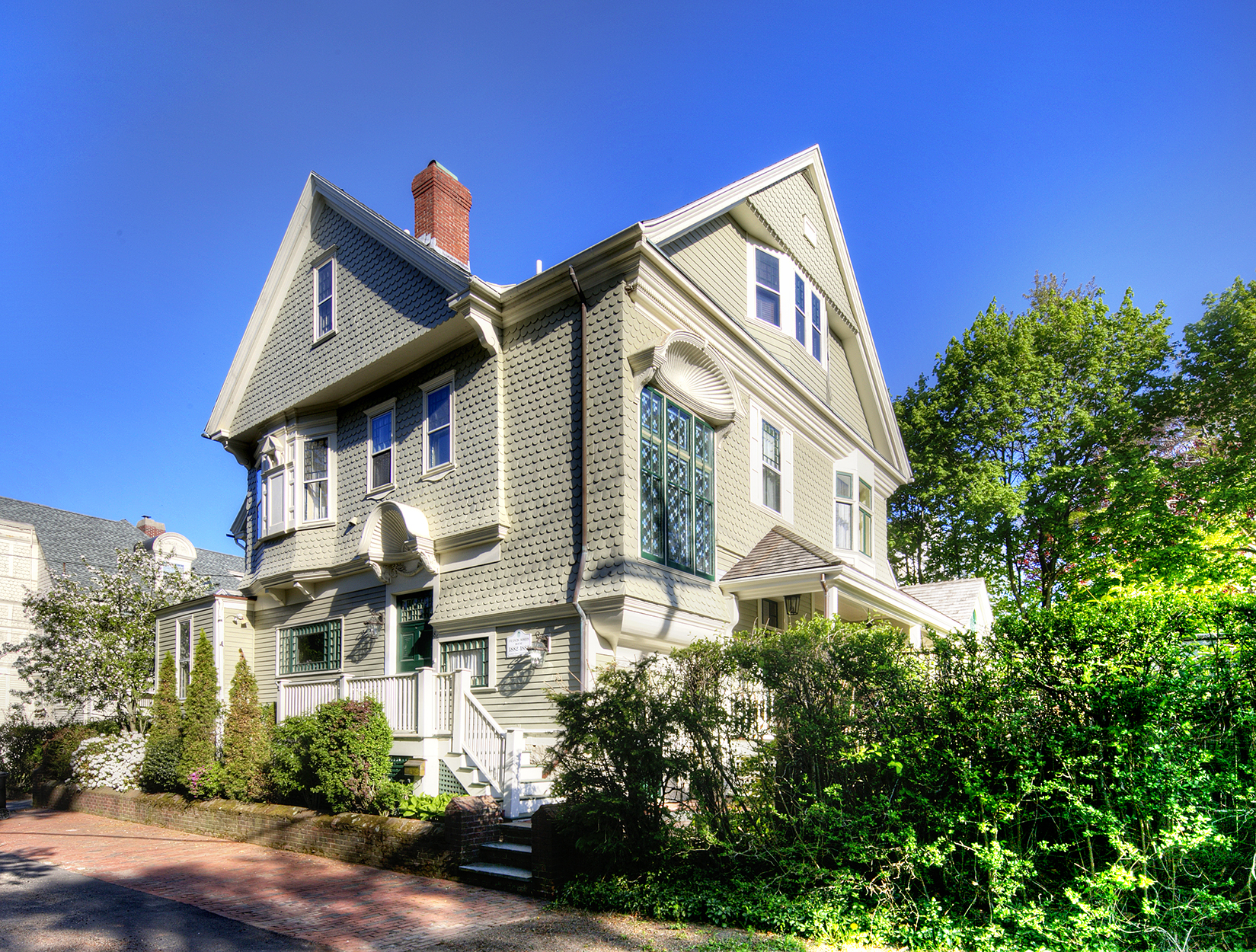 Single Family Home for Sale at The Francis Morris House 86 Rhode Island Avenue Newport, Rhode Island 02840 United States