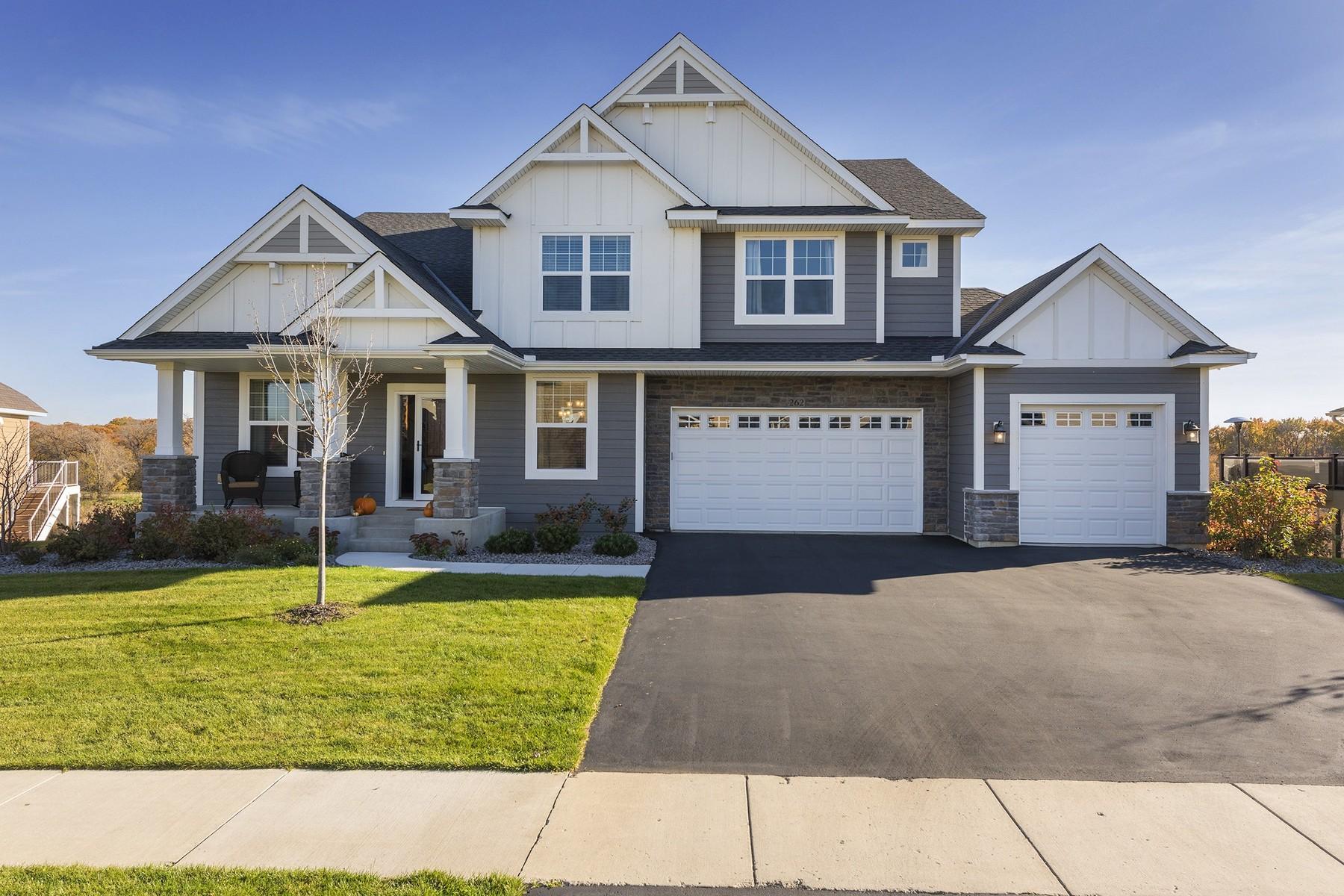 Maison unifamiliale pour l Vente à 262 Lakeview Road E Chanhassen, Minnesota 55317 États-Unis