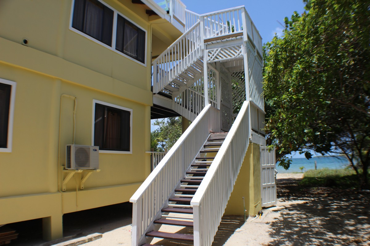Additional photo for property listing at Beachfront Duplex Placencia, Stann Creek Belize