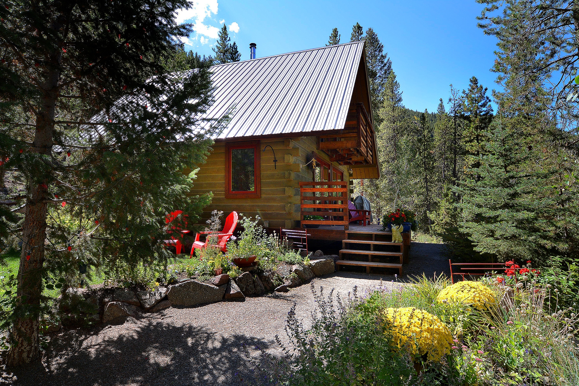 Single Family Home for Sale at Harmonious Taylor Canyon Cabin 11336 Highway 742 Almont, Colorado 81210 United States