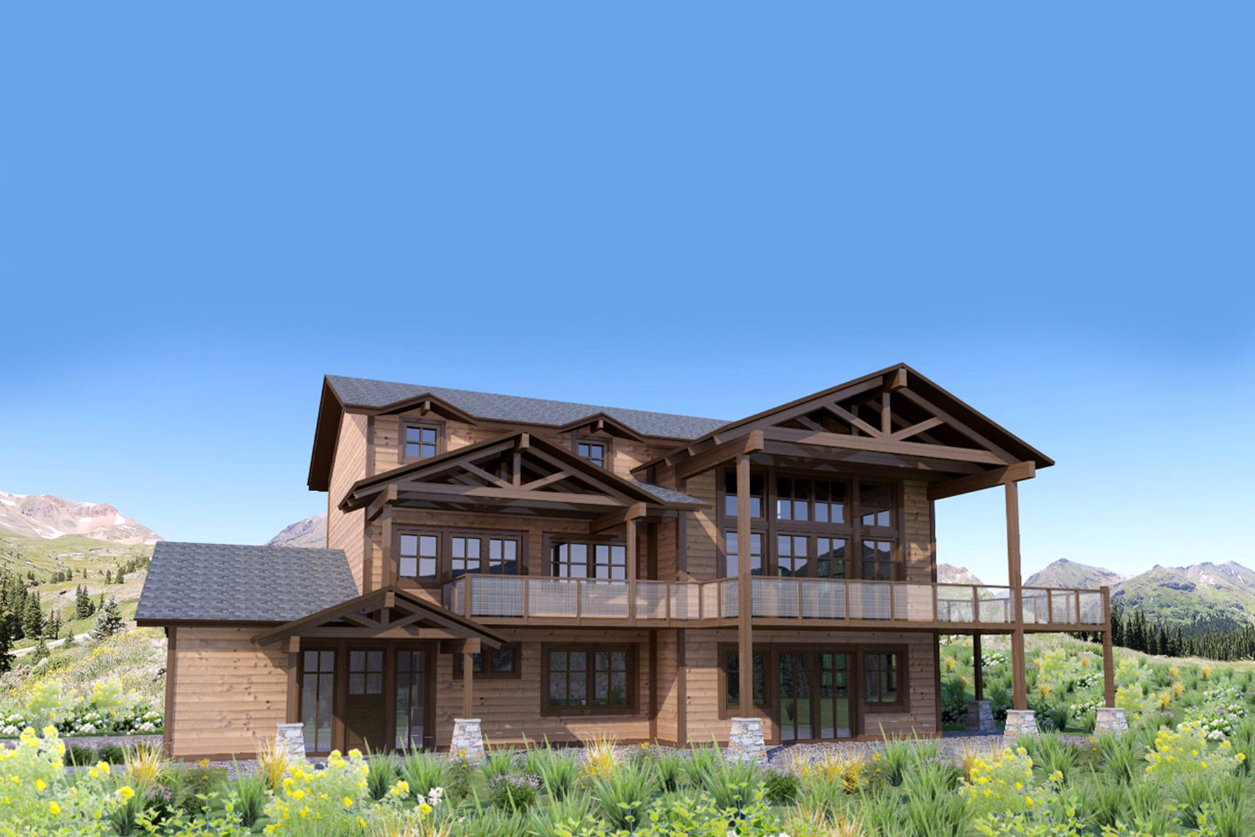 Single Family Home for Sale at New Construction in Timberlakes 1573 Westview Dr Heber City, Utah, 84032 United States