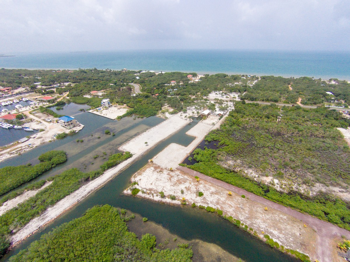 Land for Sale at Dolphin Beach - Lagoon Property Placencia, Stann Creek, Belize