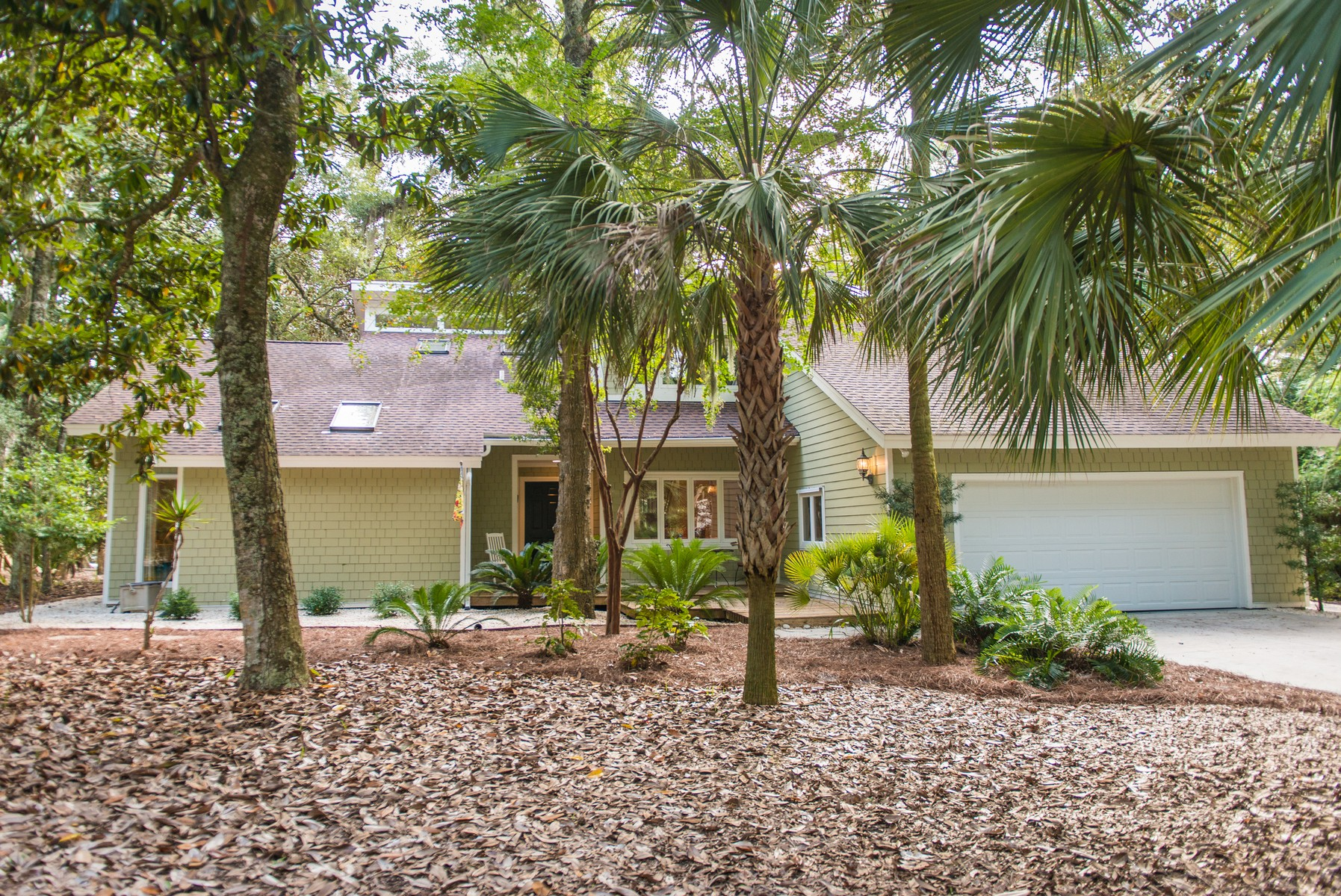Property For Sale at Golf Course Home on Seabrook Island