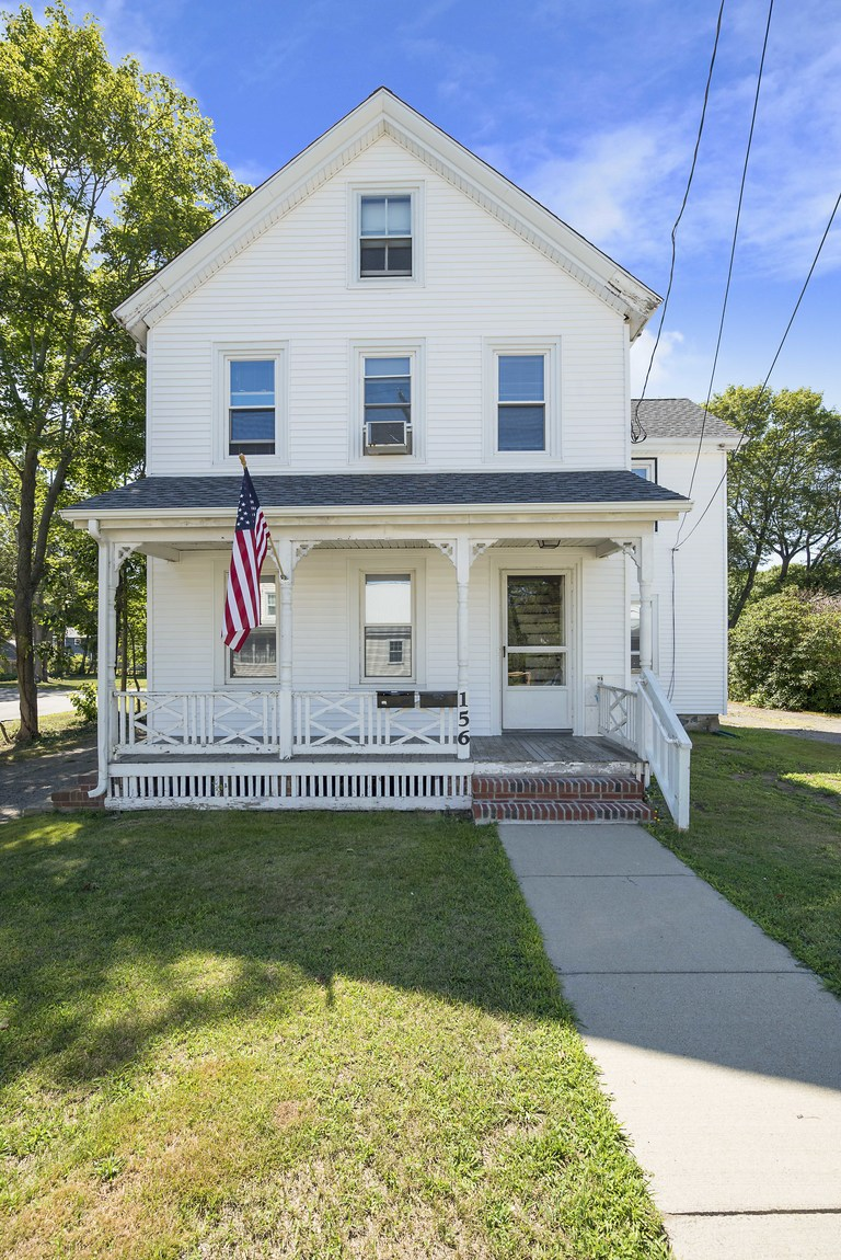 sales property at 156 River Street, Dedham, MA 2 Family