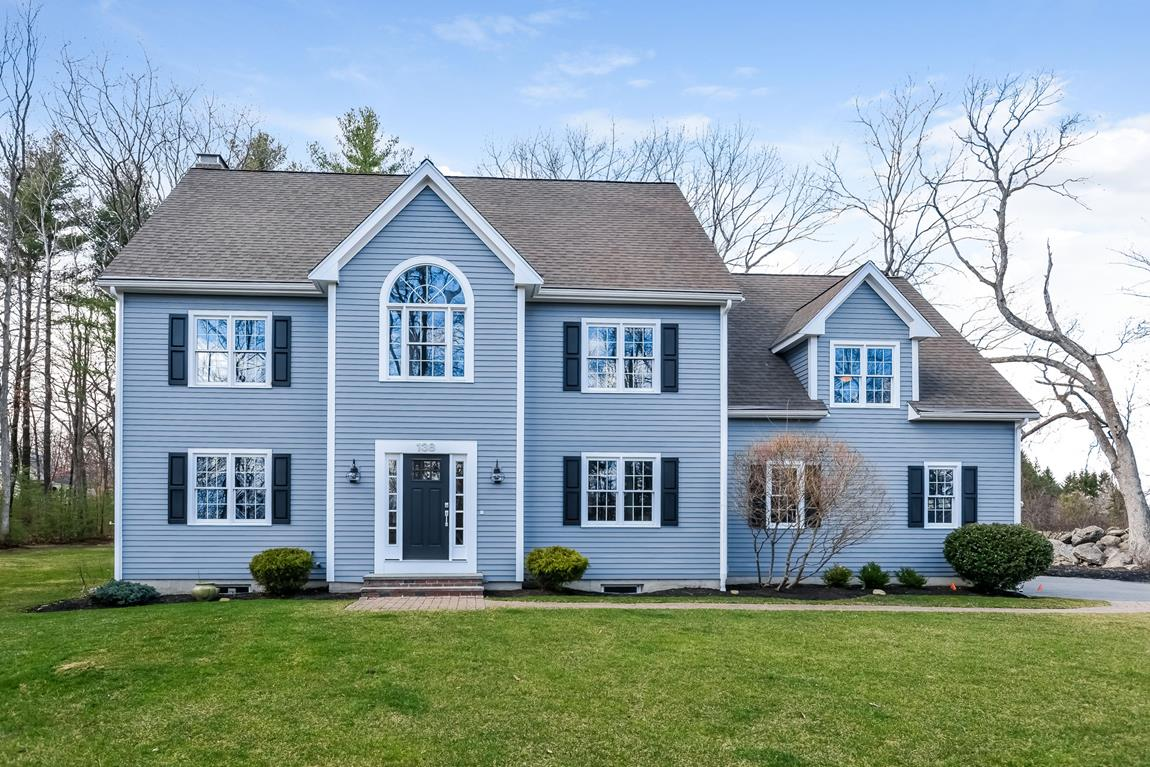 Single Family Home for Sale at Open and Spacious Colonial 138 Glenview Street Upton, Massachusetts 01568 United States