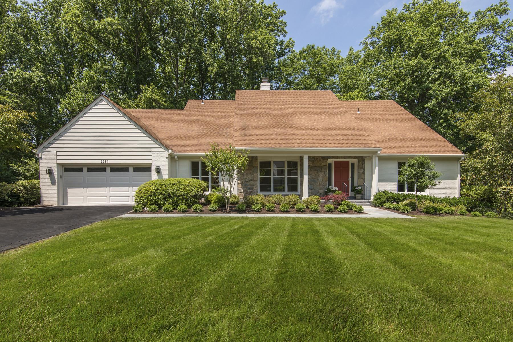 獨棟家庭住宅 為 出售 在 6524 Sunny Hill Court, Mclean 6524 Sunny Hill Ct McLean, 弗吉尼亞州, 22101 美國
