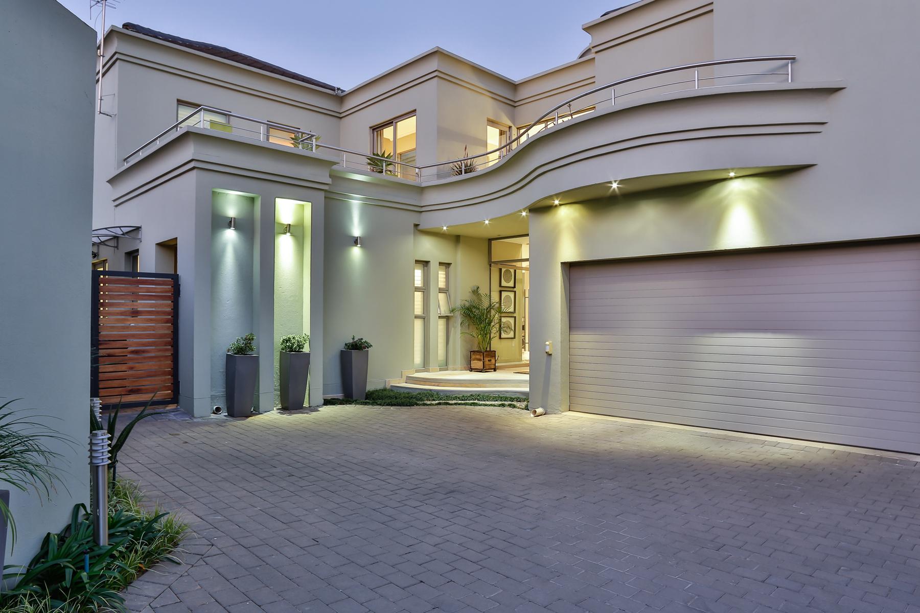 獨棟家庭住宅 為 出售 在 Bryanston Johannesburg, 豪登省 南非