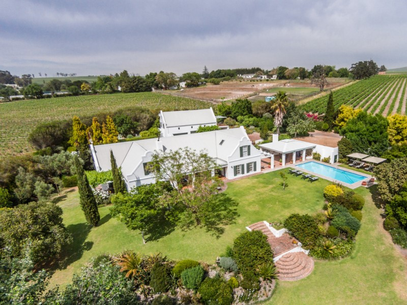 獨棟家庭住宅 為 出售 在 Exclusivity in tranquil Stellenbosch Valley Stellenbosch, 西開普省, 7600 南非