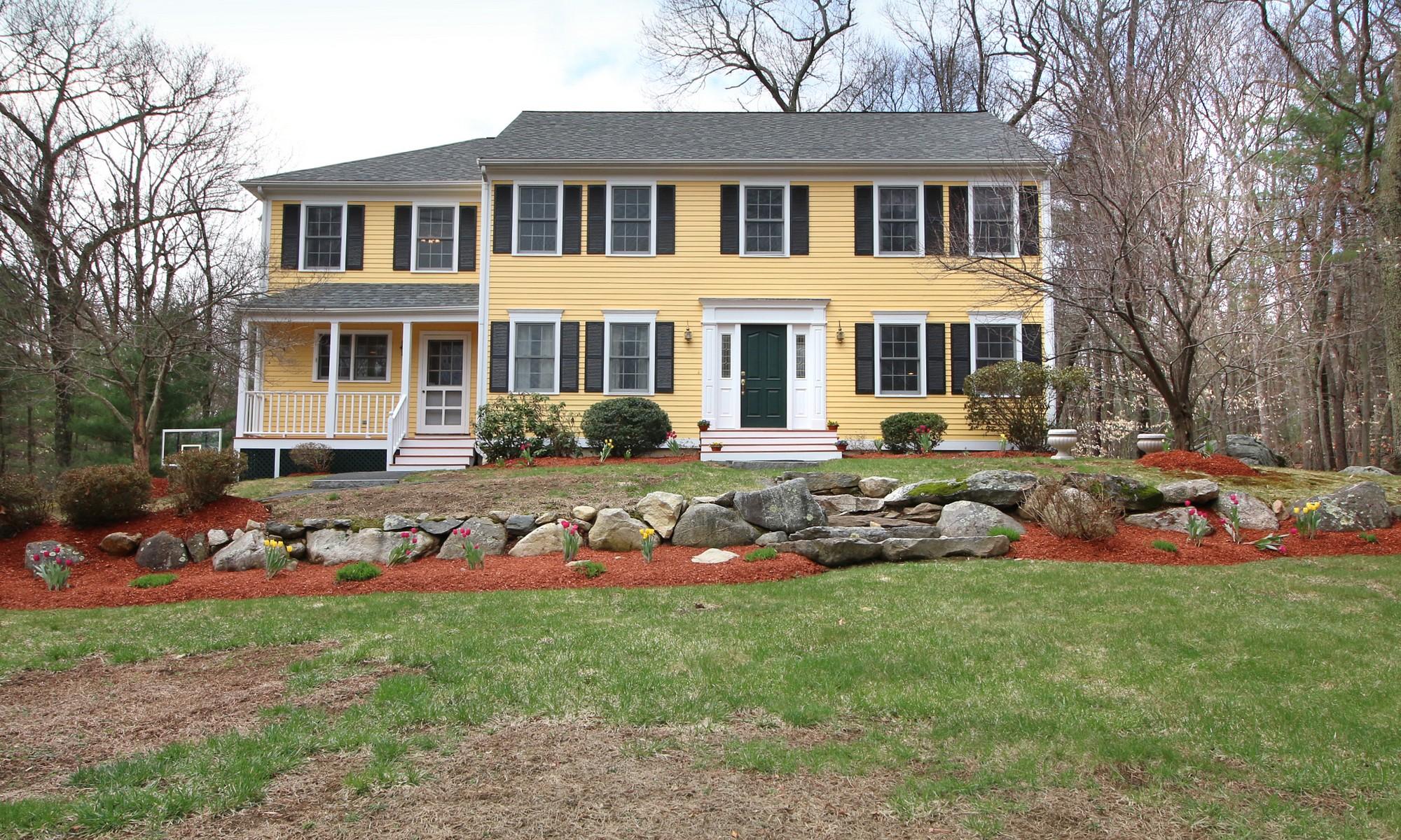 Tek Ailelik Ev için Satış at Crisp, bright & spacious 186 Bedford Road Lincoln, Massachusetts 01773 Amerika Birleşik Devletleri