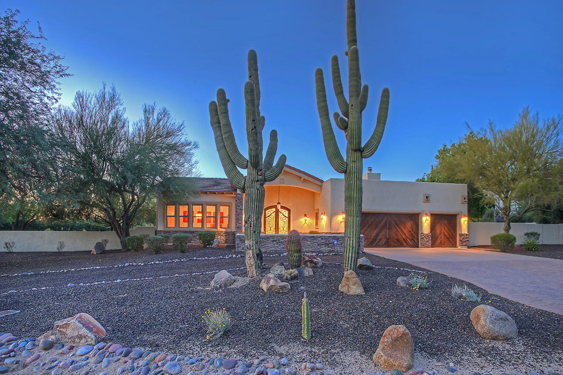 sales property at Exceptional ranch home in Pinnacle Peak Estates 2