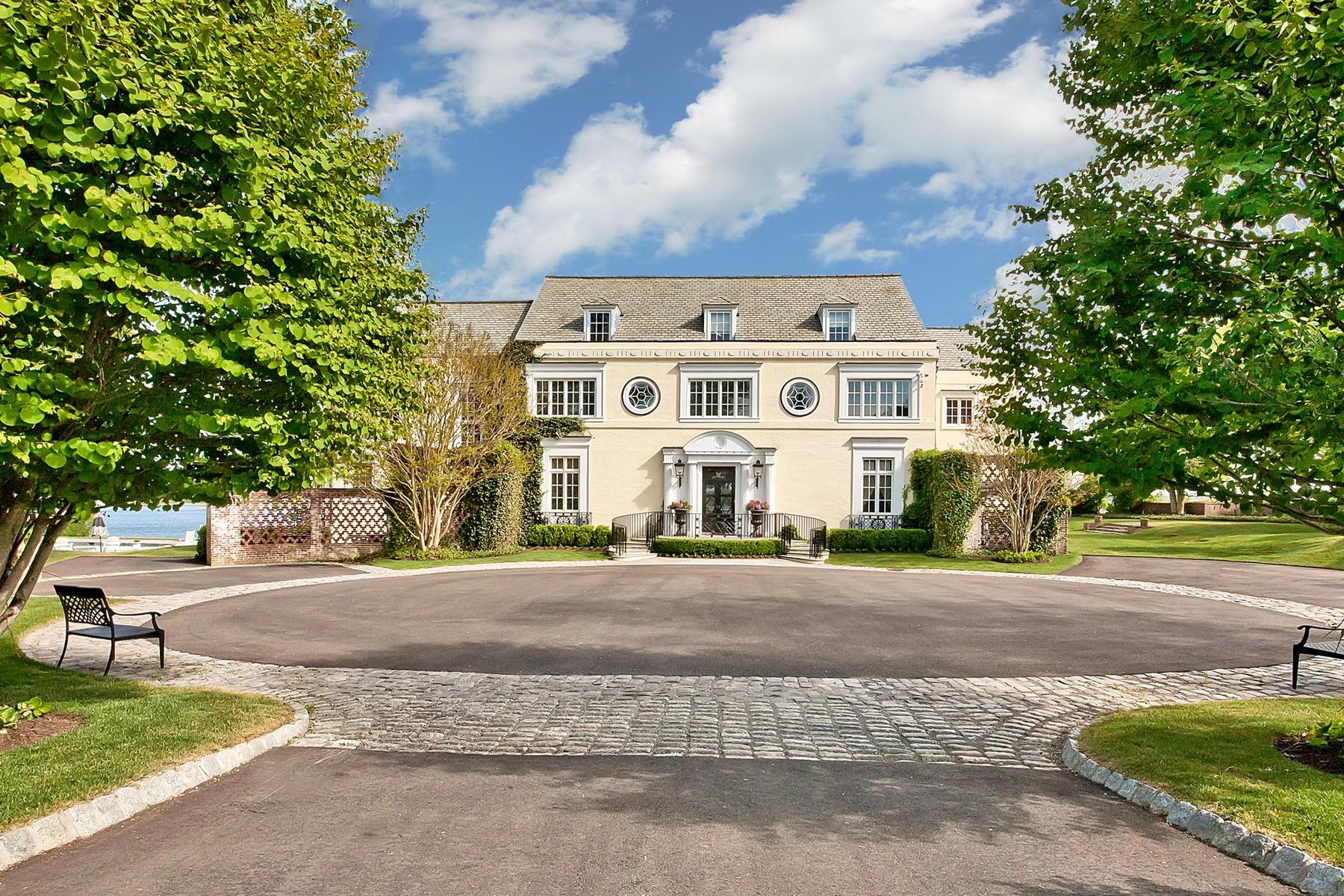 Maison unifamiliale pour l Vente à Holly House Estate 536 Navesink River Rd Middletown, New Jersey 07748 États-Unis