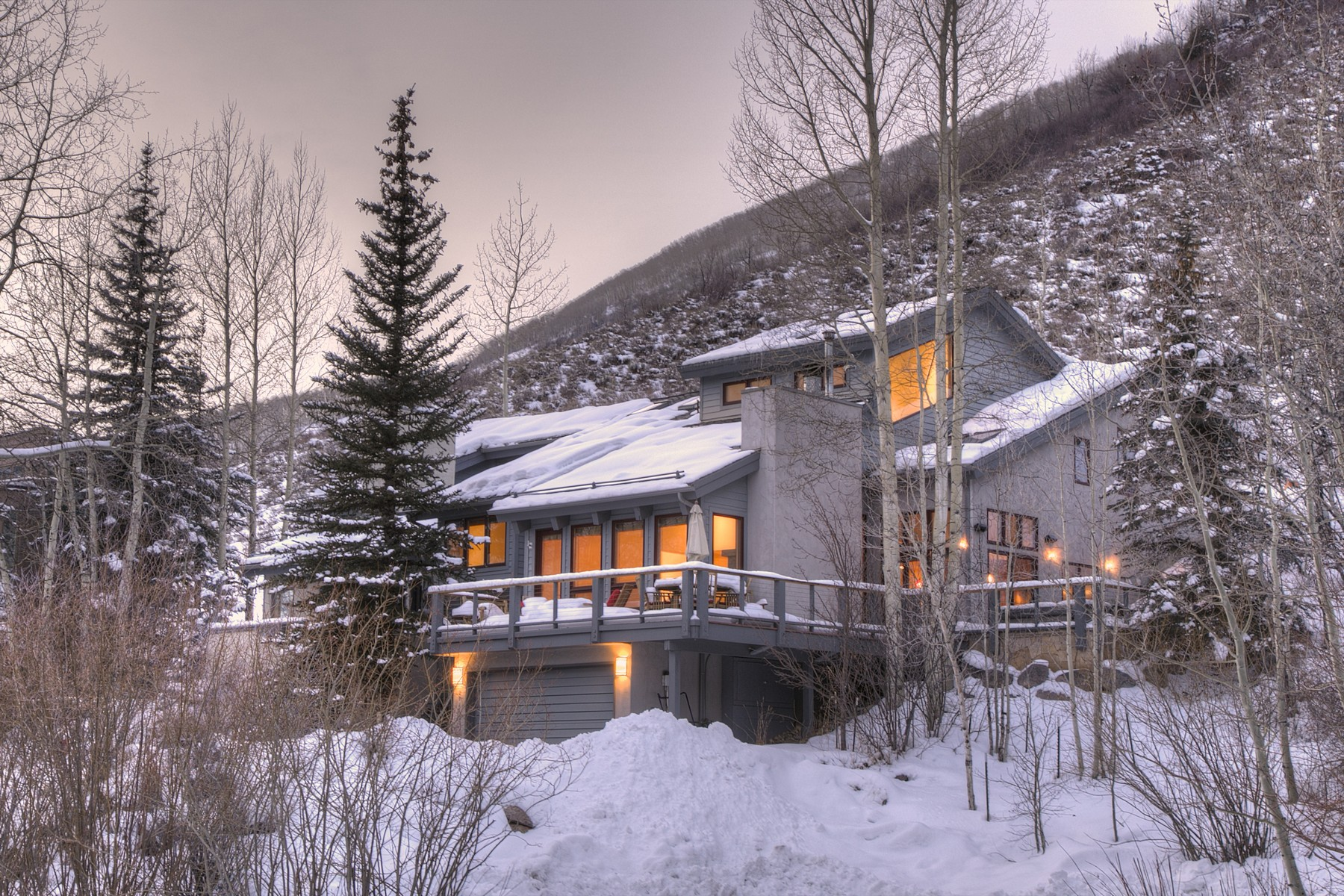 Duplex for Sale at Renovated Booth Falls Duplex 2945 Manns Ranch Rd B Vail, Colorado 81657 United States
