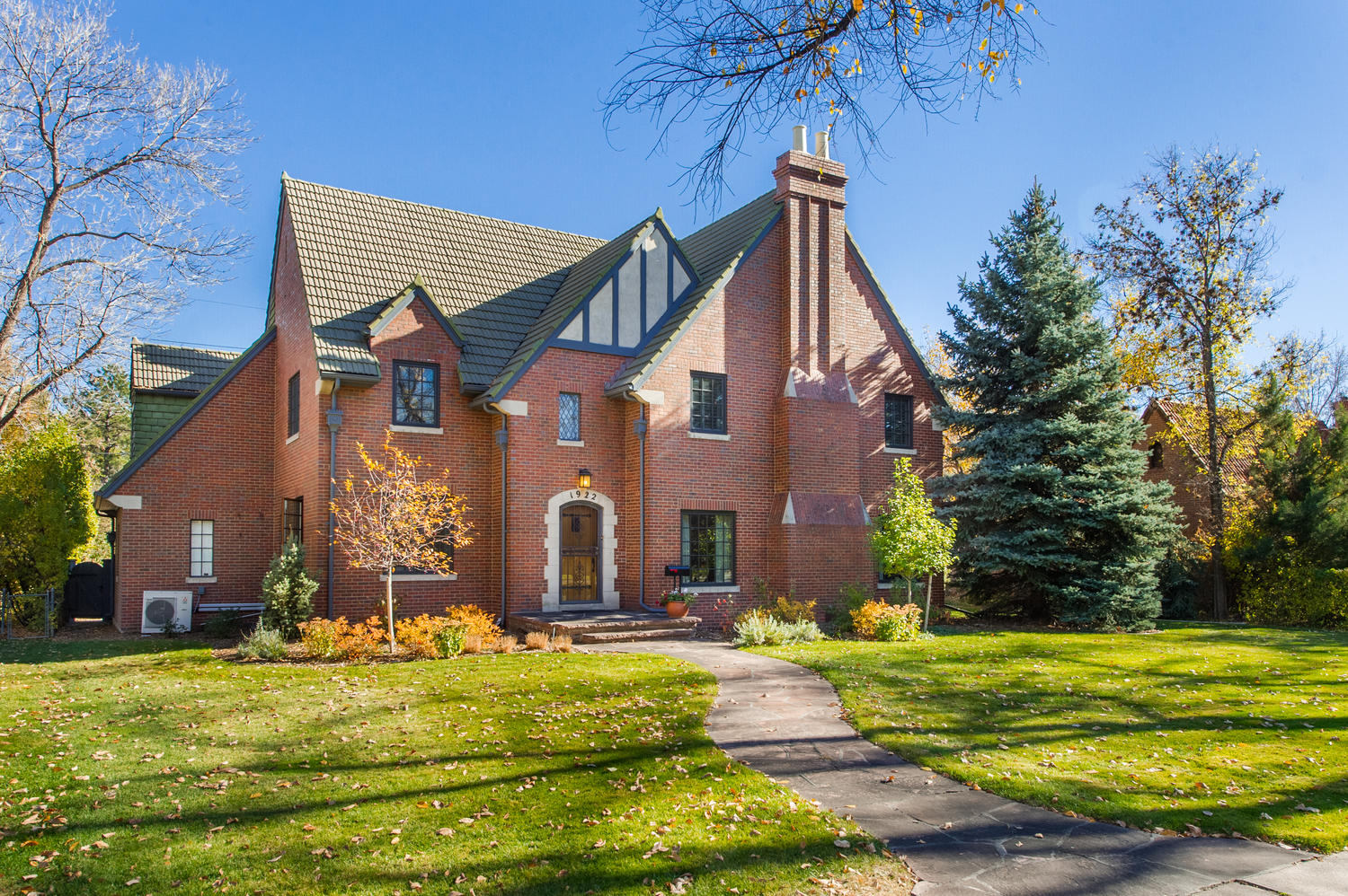 Single Family Home for Sale at Stately and spacious Tudor on prestigious Monaco Parkway 1922 Monaco Parkway Denver, Colorado, 80220 United States