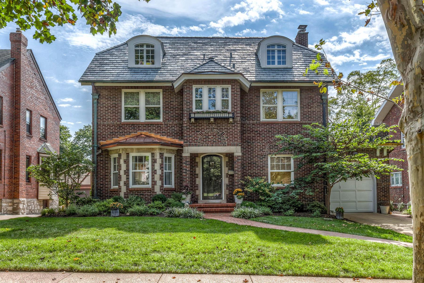 Maison unifamiliale pour l Vente à Warren Ave 540 Warren Ave University City, Missouri 63130 États-Unis