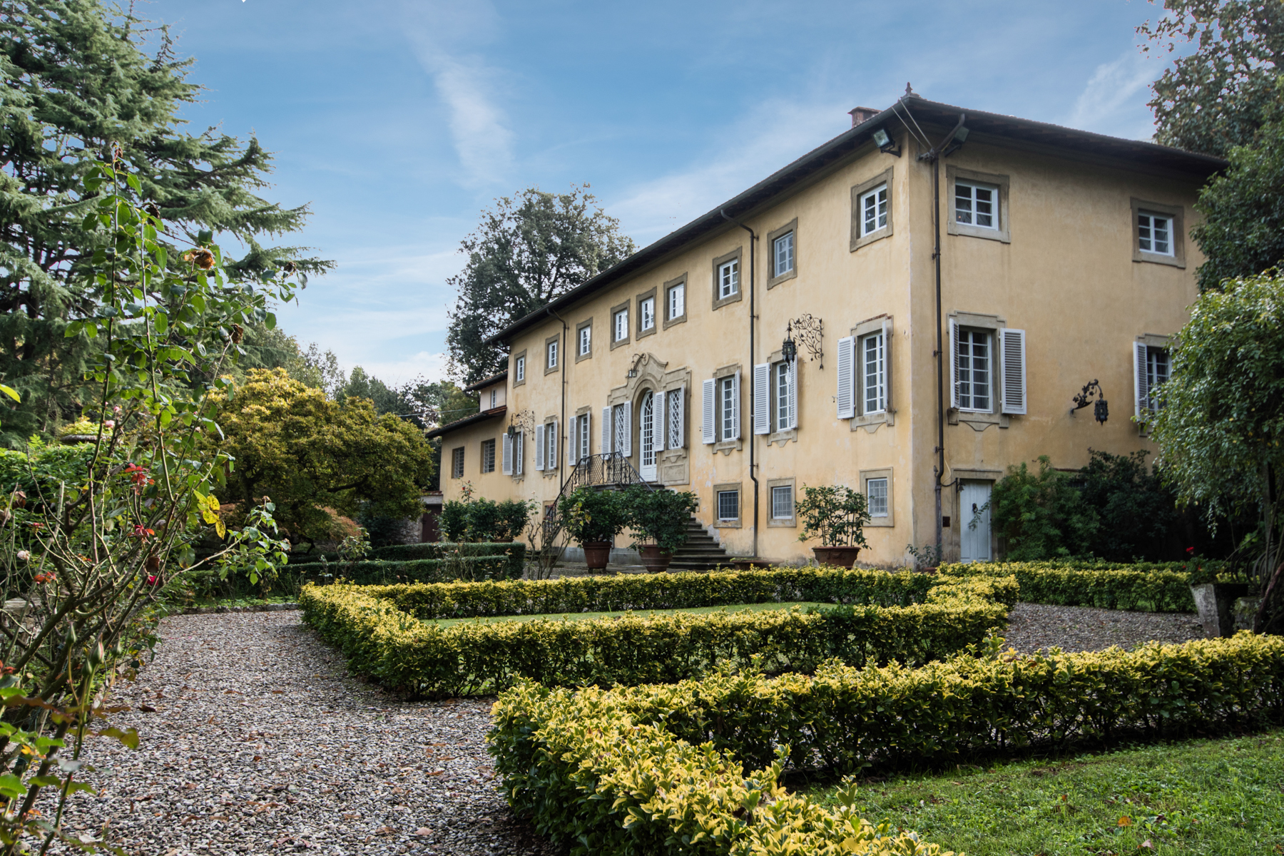 Single Family Home for Sale at Charming 18th century villa in Lucca countryside Loc. Montuolo Lucca, 55100 Italy