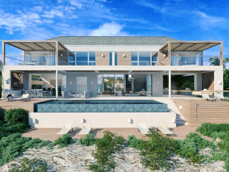 Vivienda unifamiliar por un Venta en Beach Enclave - Two Storey Villa- LOT 7 Oceanview Blue Mountain, Providenciales TC Islas Turcas Y Caicos