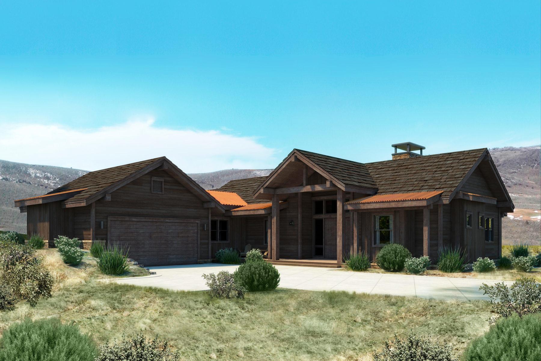 Vivienda unifamiliar por un Venta en Aspen Cabin With Spectacular Views! 6665 E Broken Stick Ct Lot 146 Heber City, Utah, 84032 Estados Unidos