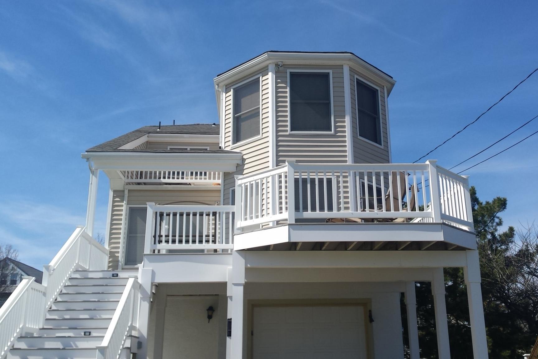 단독 가정 주택 용 매매 에 1207 New Jersey Avenue Cape May, 뉴저지 08204 미국